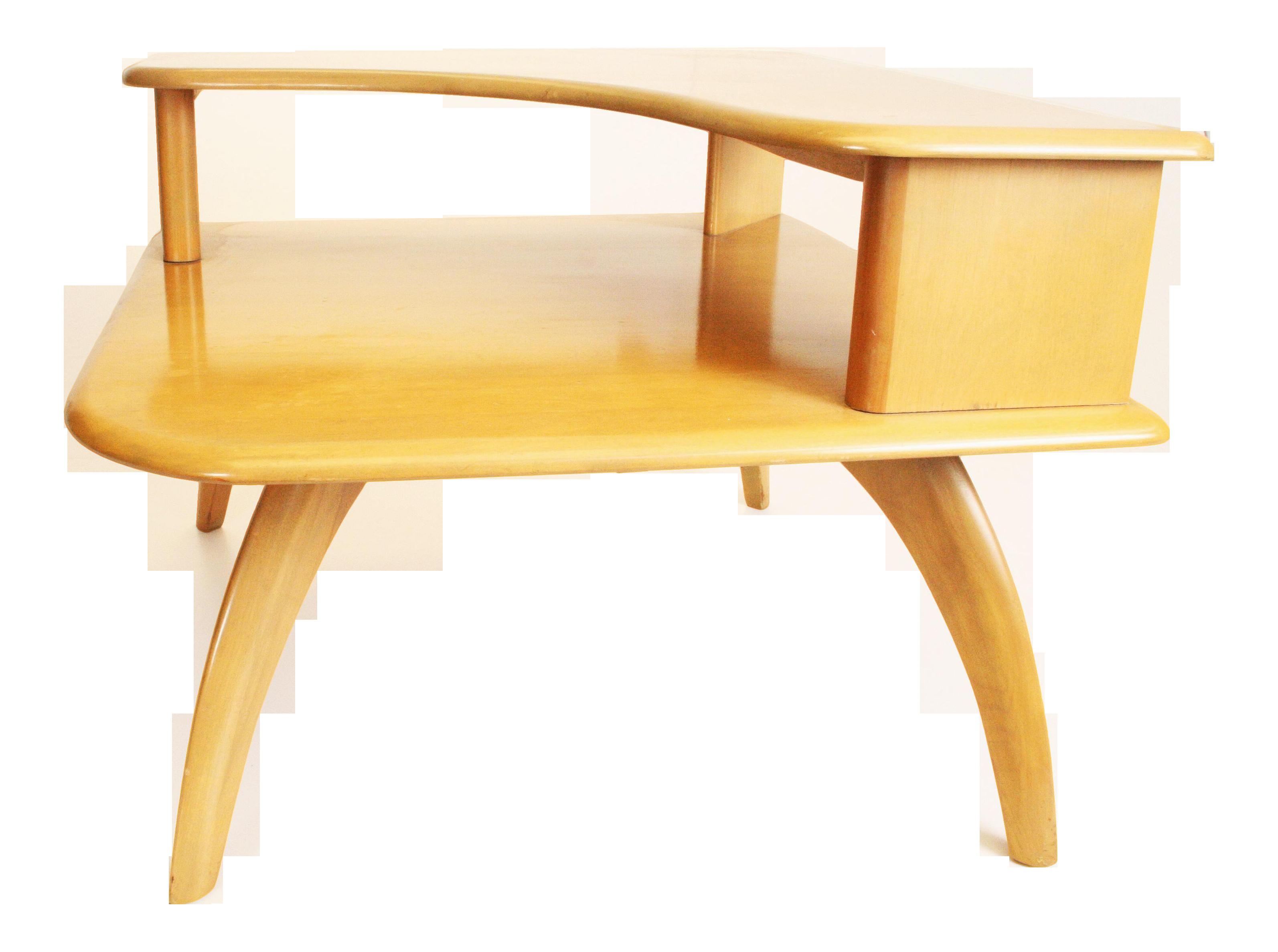Heywood Wakefield Mid Century Modern Corner Table Chairish