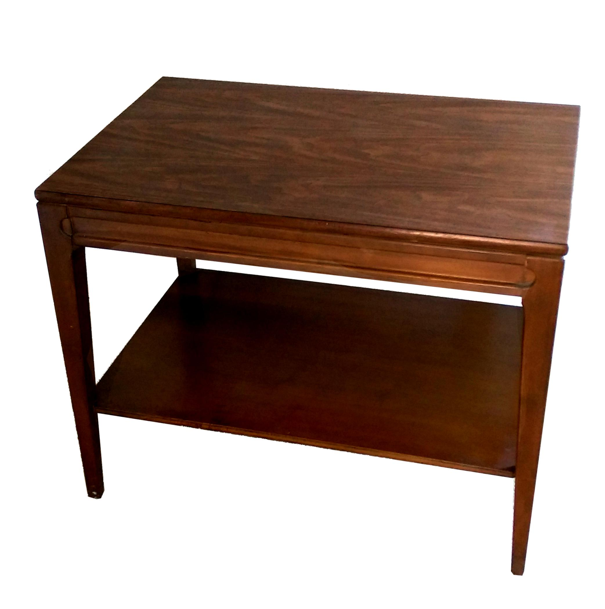 MidCentury Mersman Walnut Coffee Table Chairish