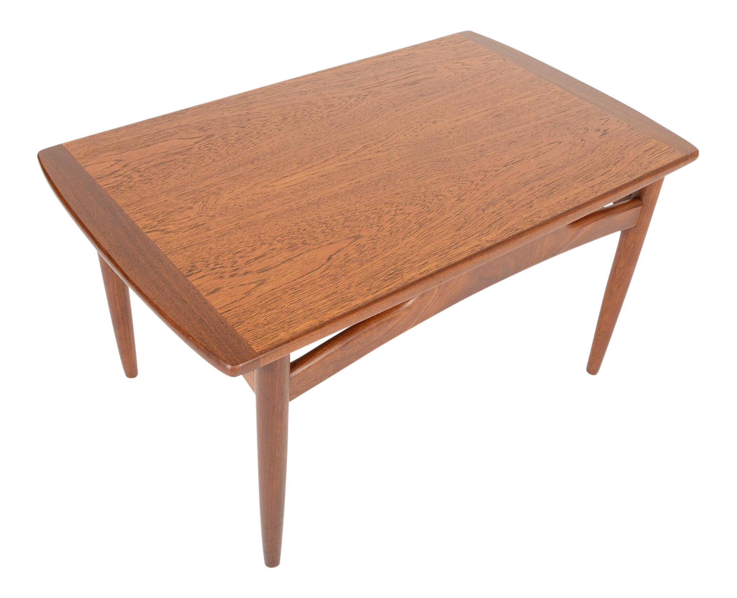 Small g plan coffee table in teak chairish for Small coffee table plans