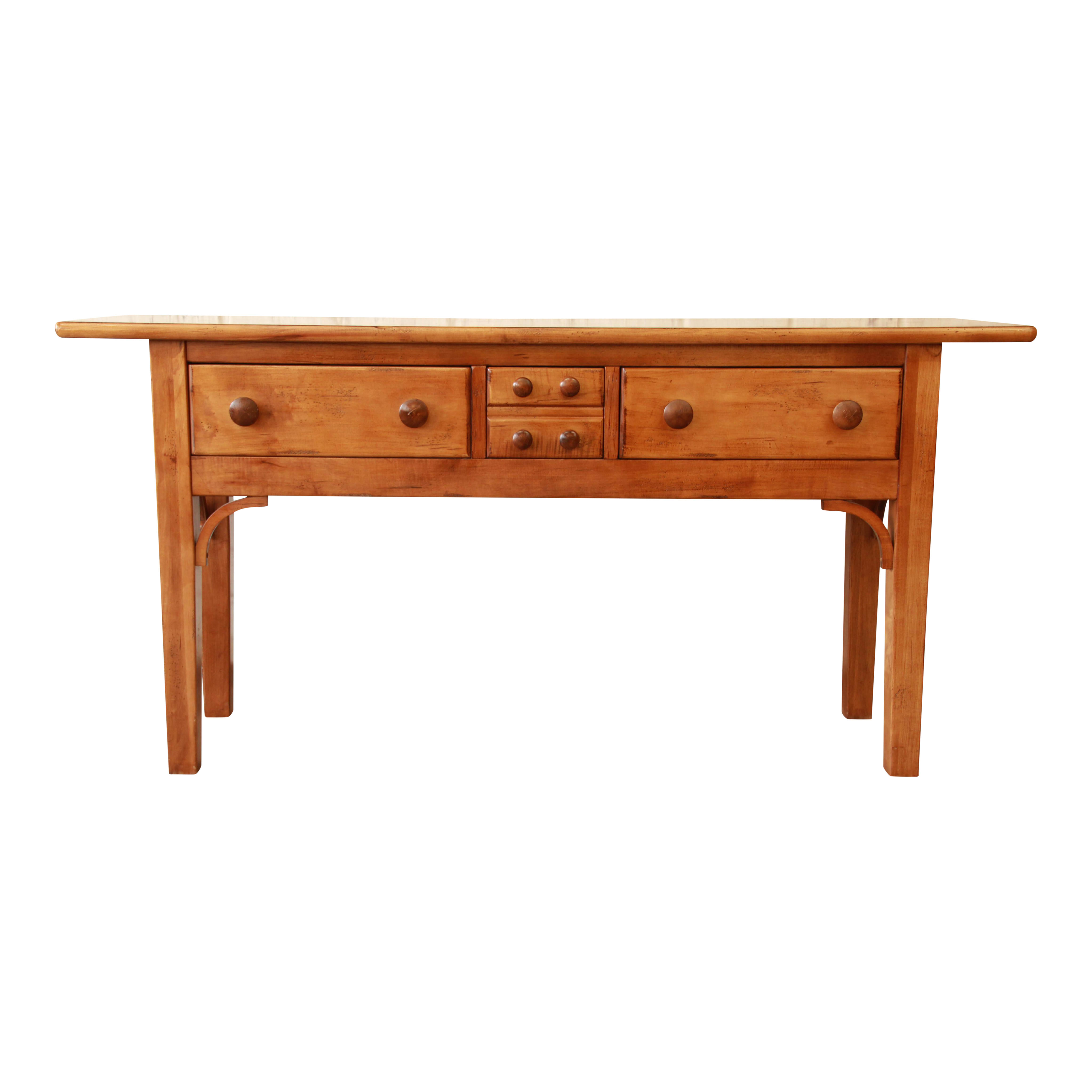 Pine Console Table by Sherrill Furniture