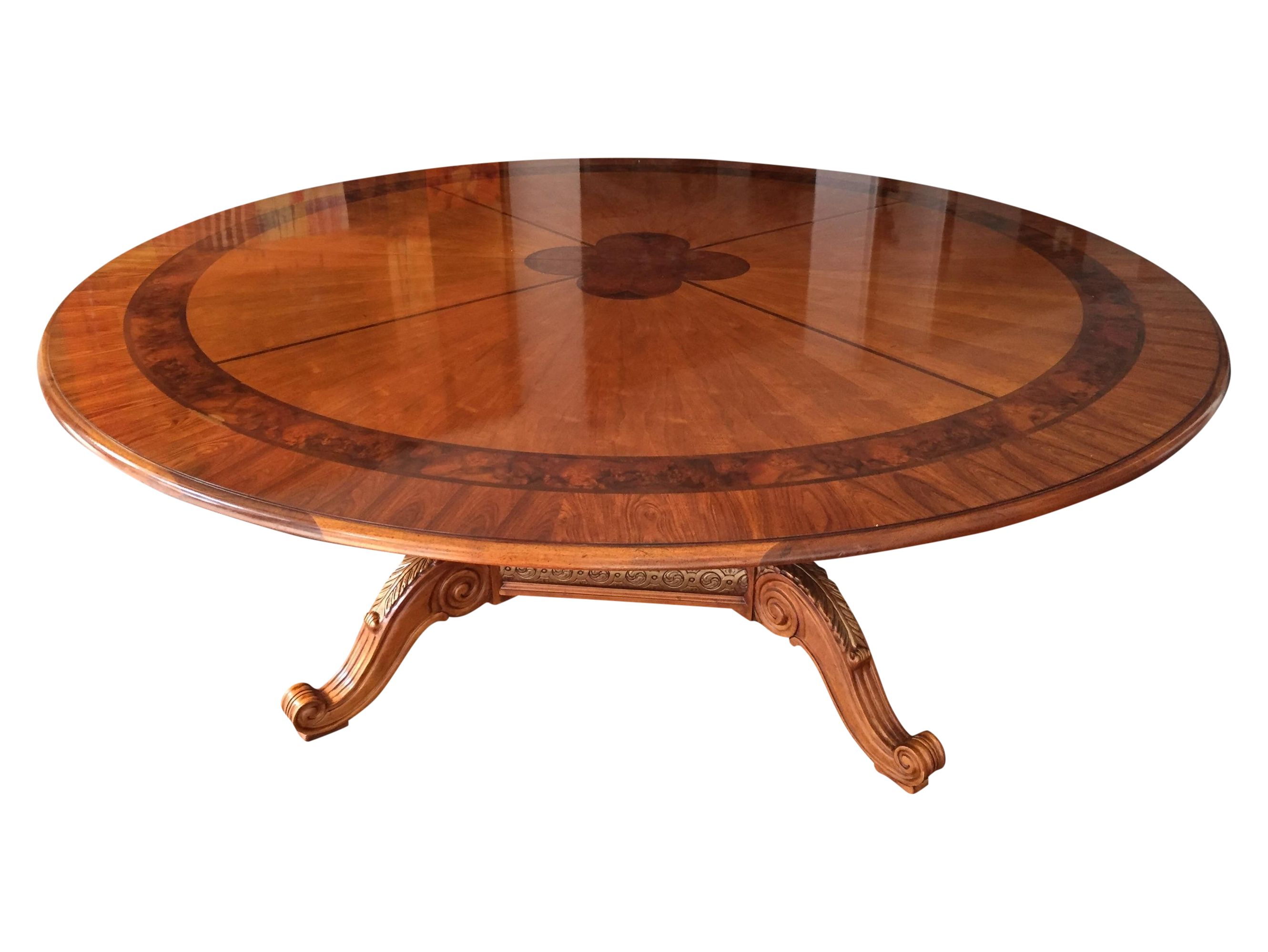 Henredon Round Dining Table Round Designs