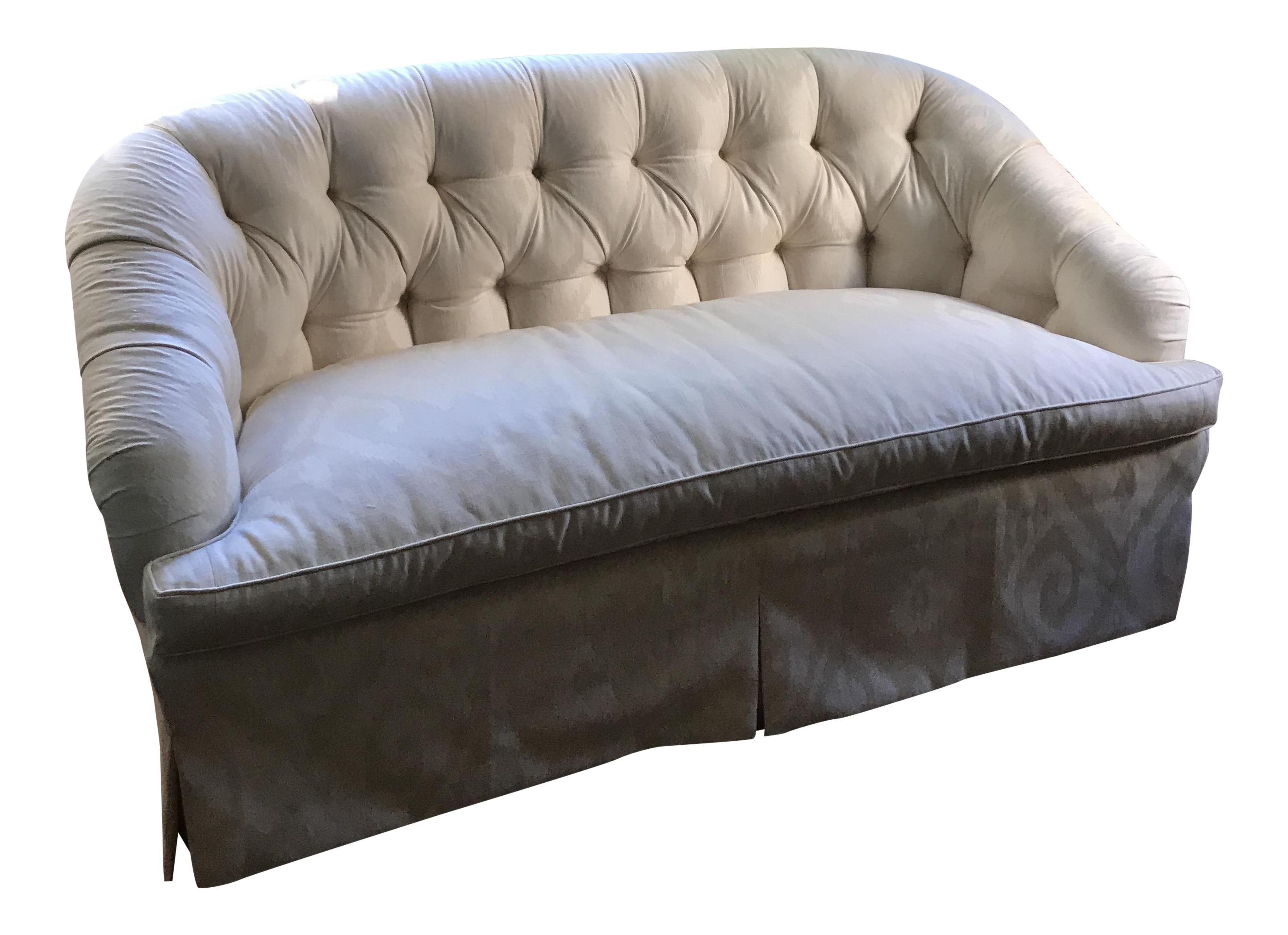 vintage used sofas chairish