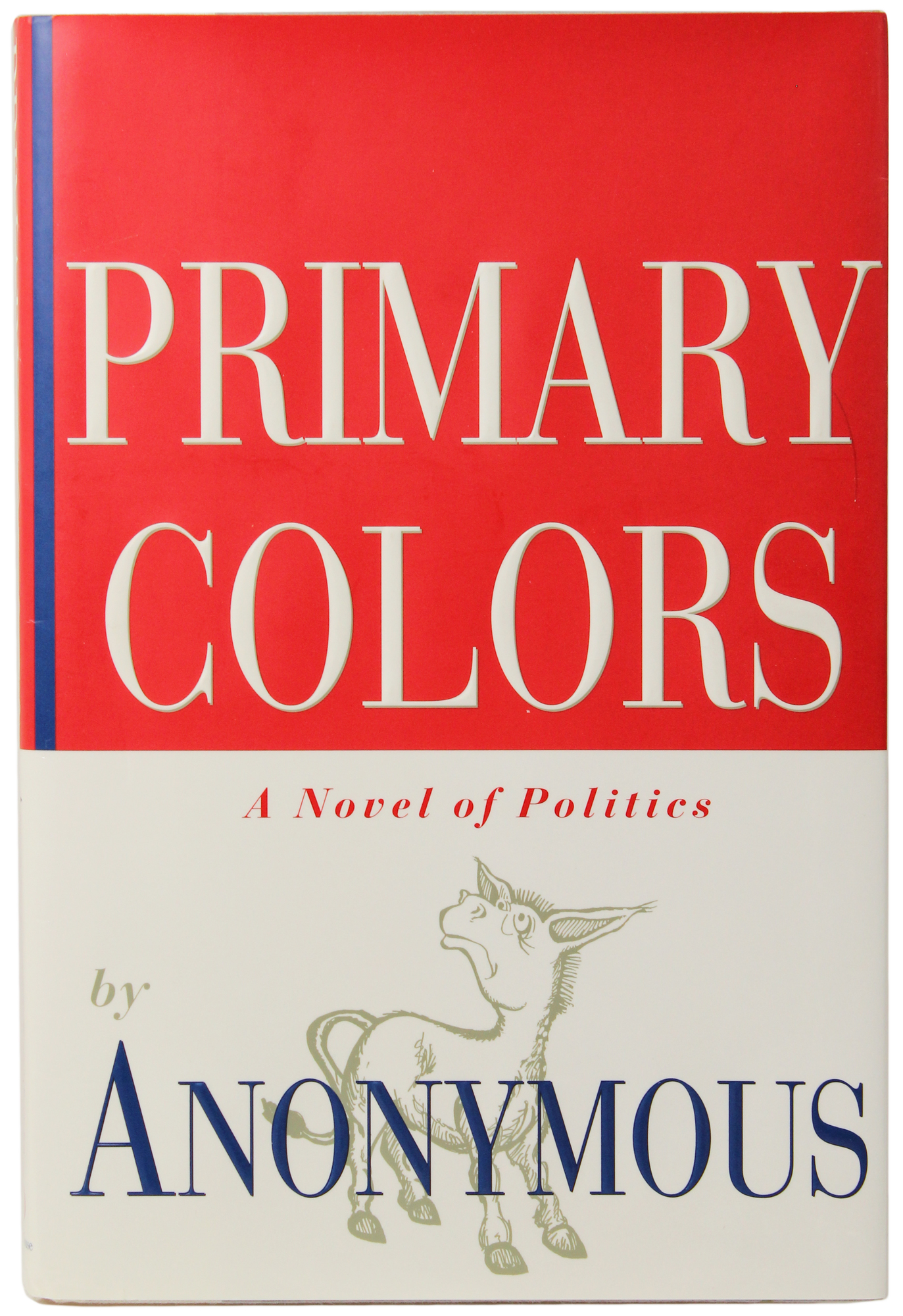 Primary Colors First Edition Book