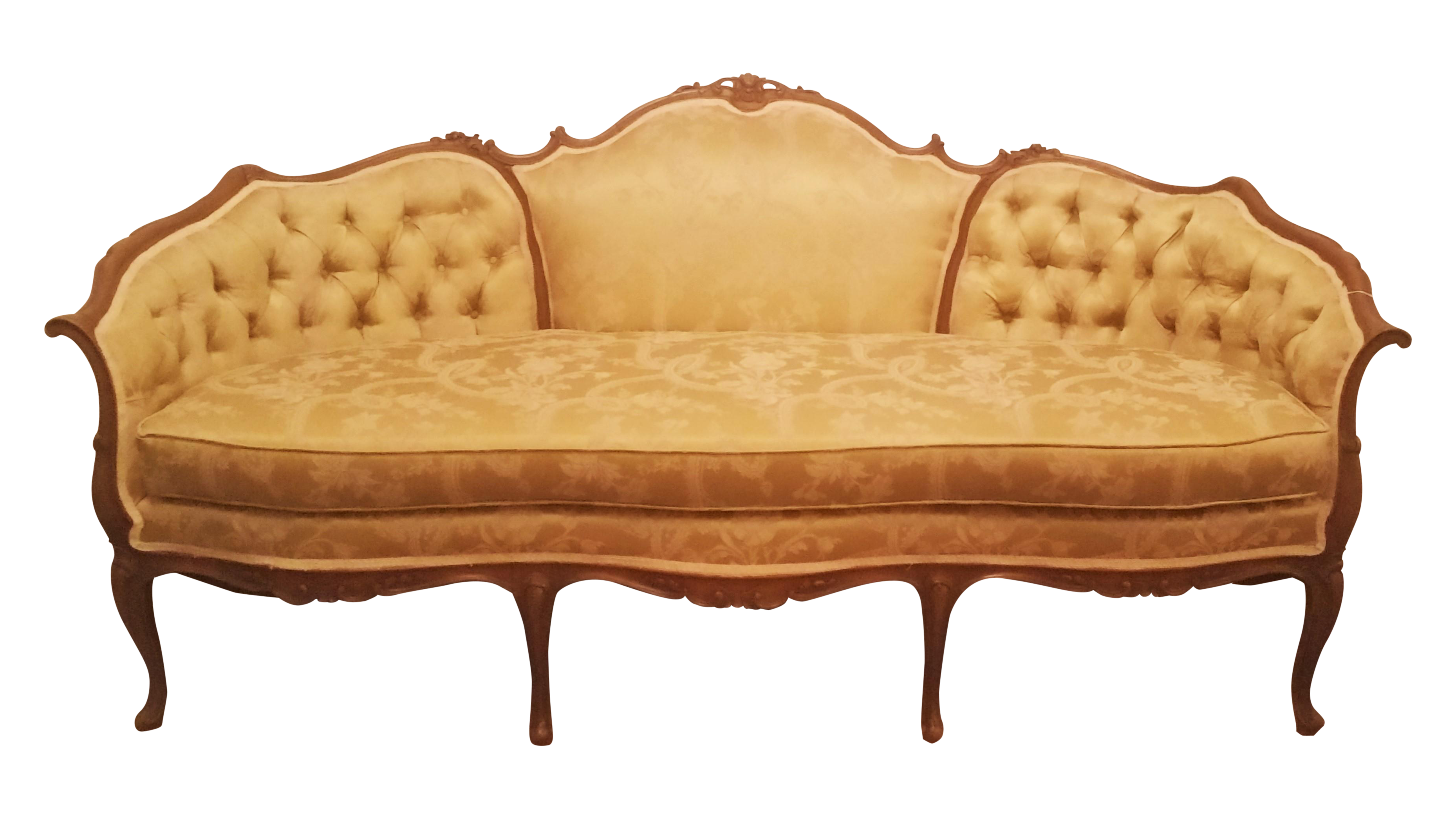 1940s hollywood regency couch chairish hollywood regency sof