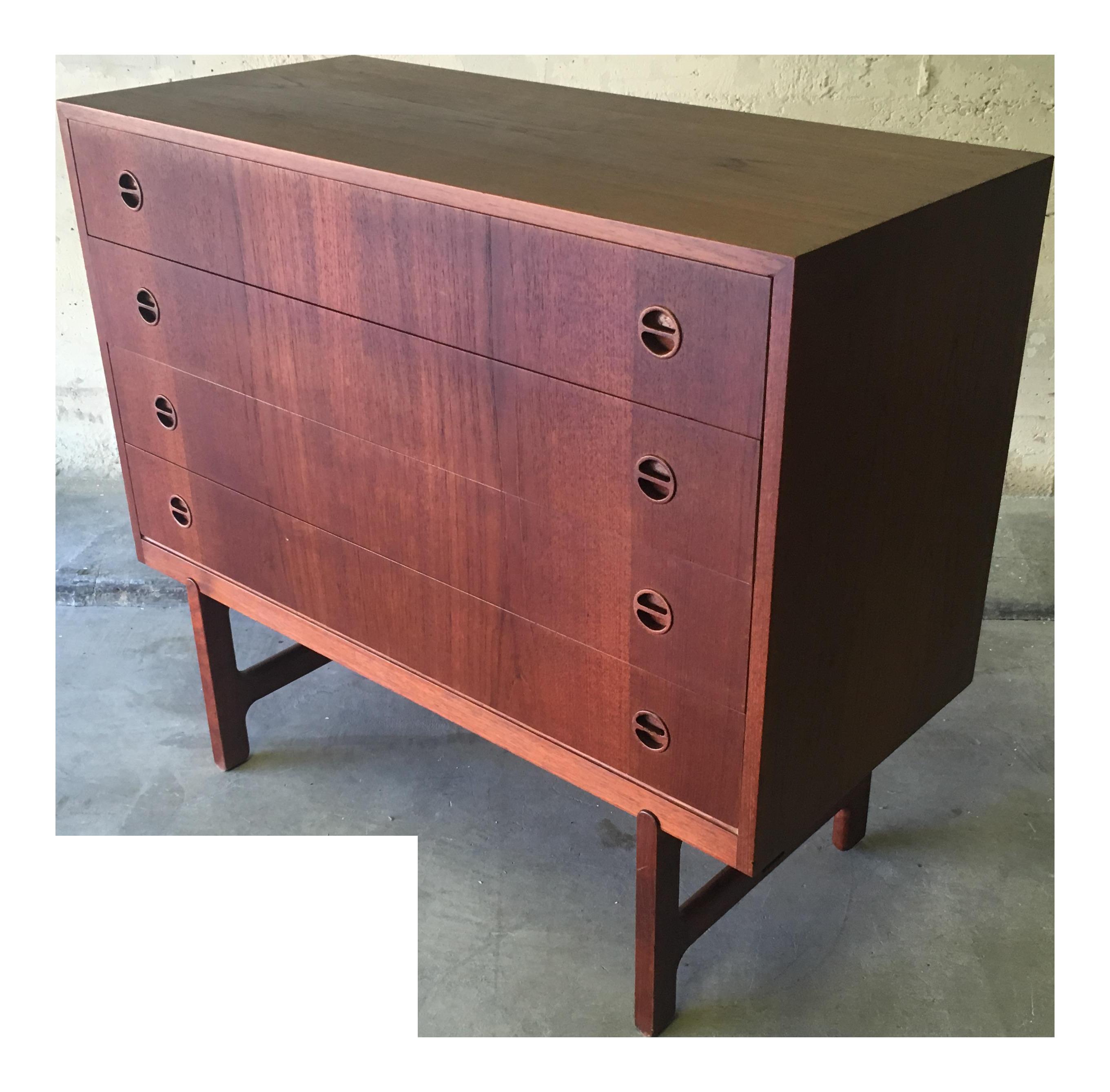 1960u0027s ejnar larsen u0026 askel madsen for nm denmark chest of drawers