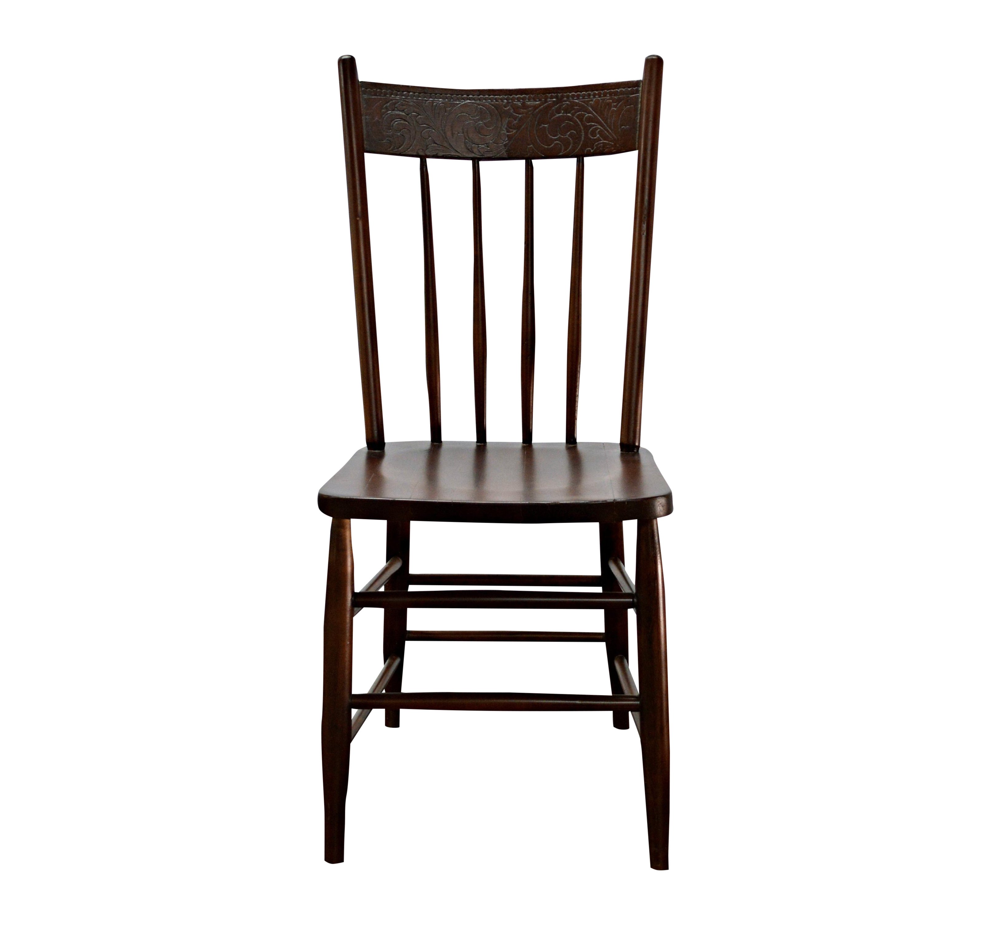 Antique Carved Wood Chair Chairish