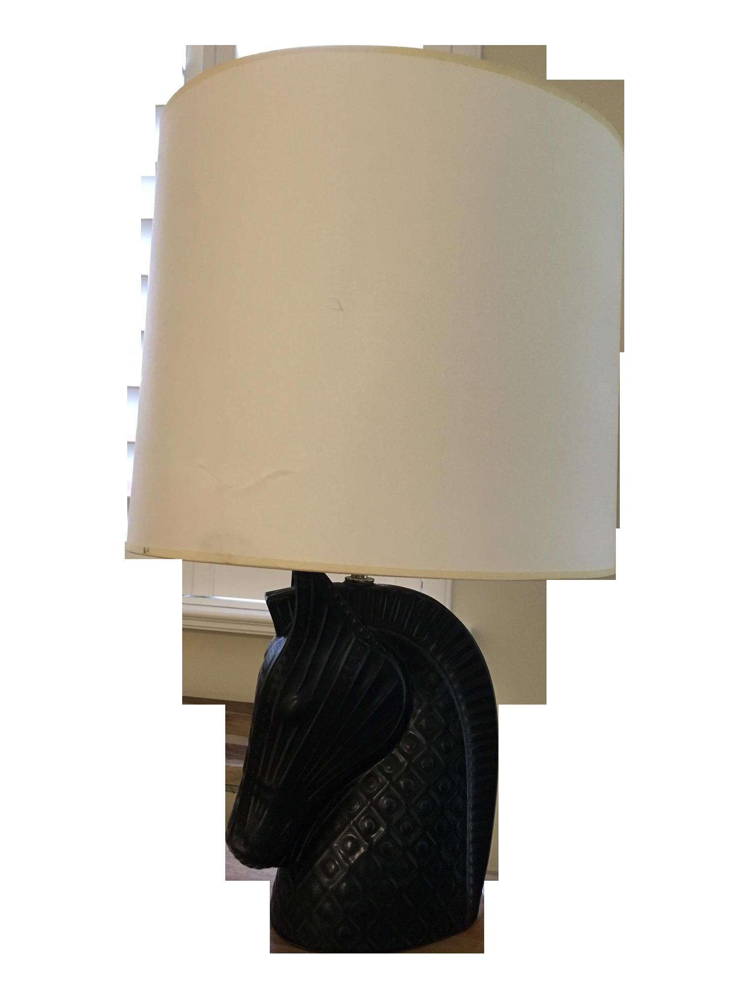Jonathan Adler Horse Head Table Lamp Chairish