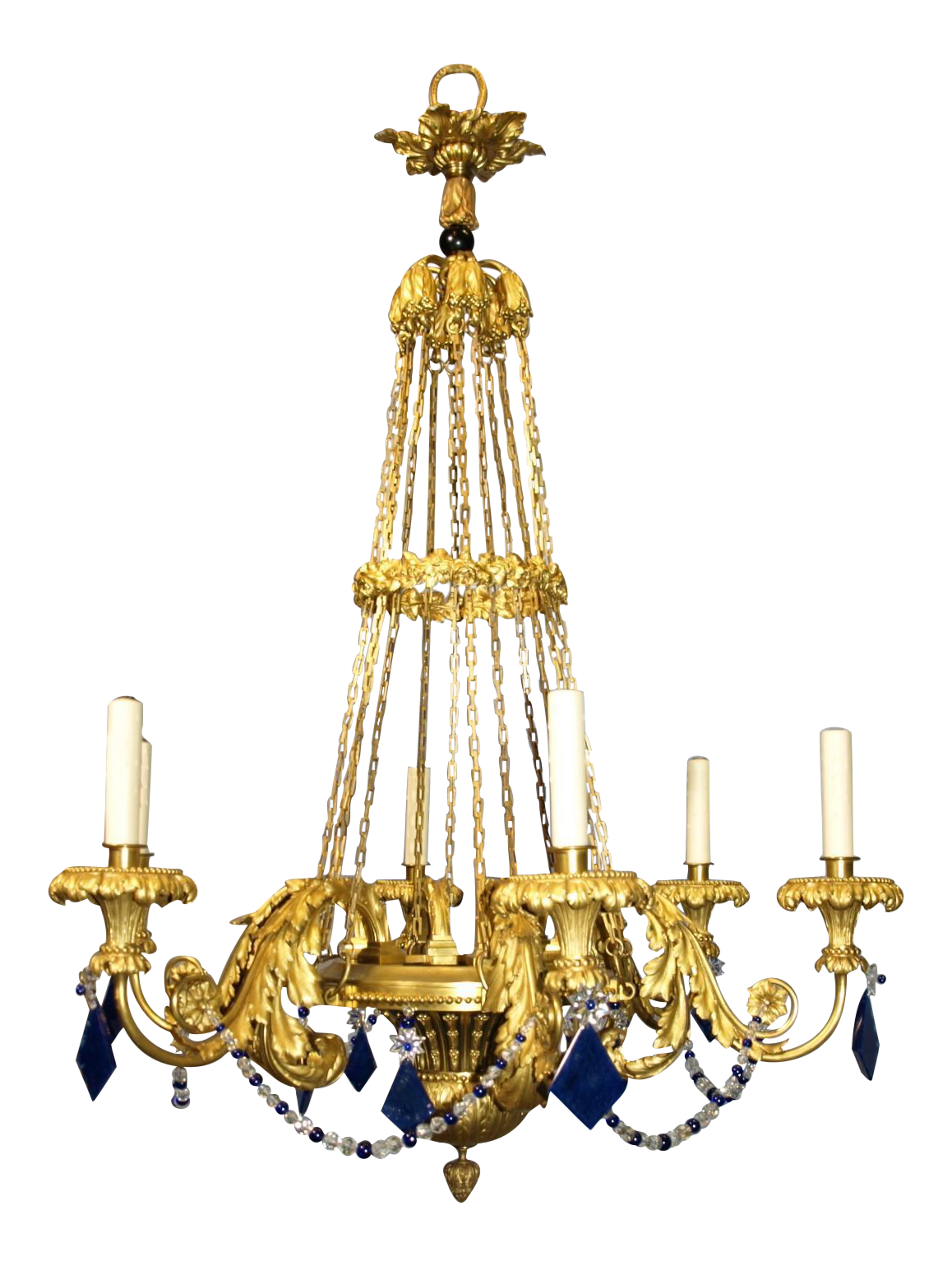 High-End Antique Chandelier Russian | DECASO