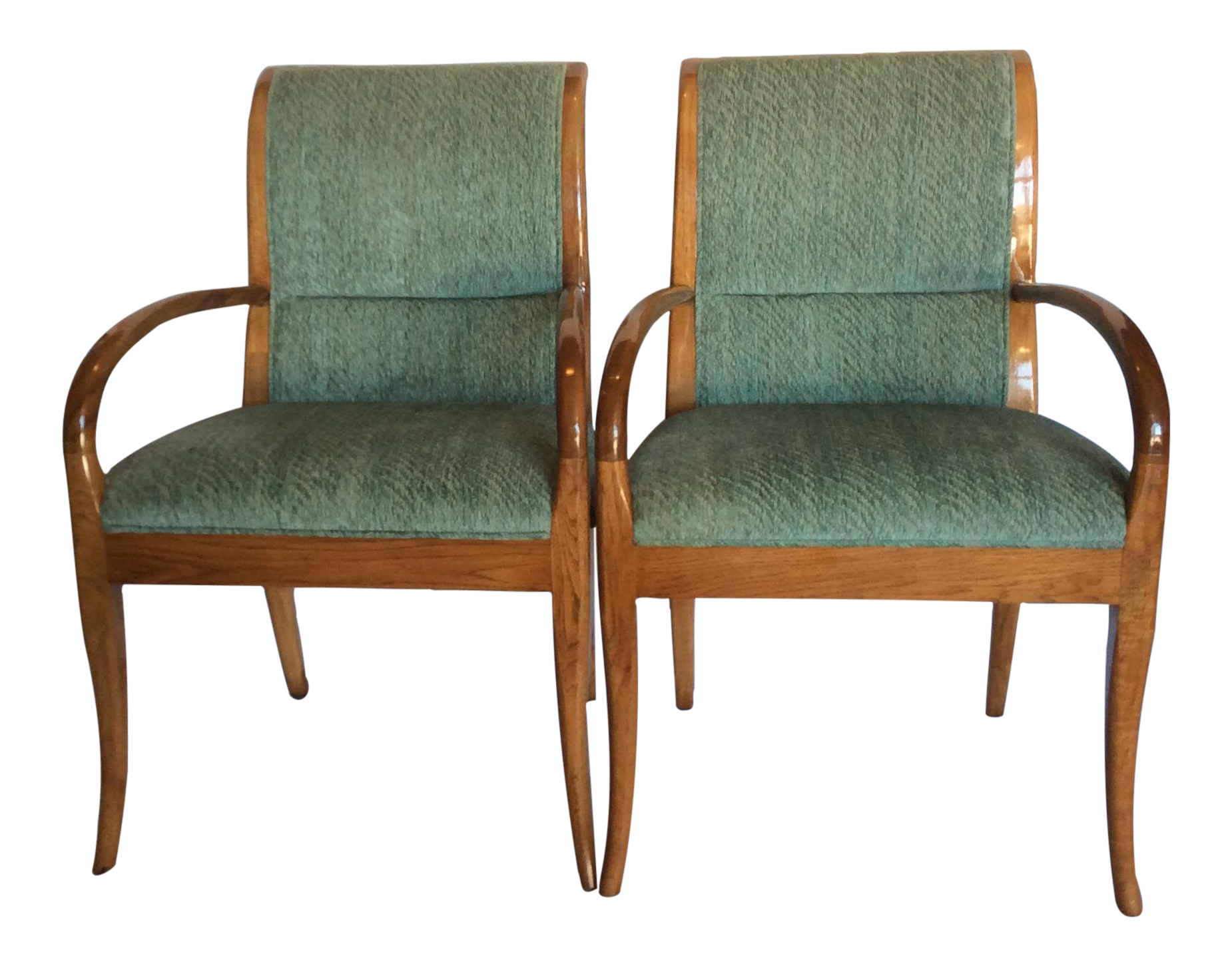 Henredon Contemporary Dining Chairs Set Of 6 Chairish