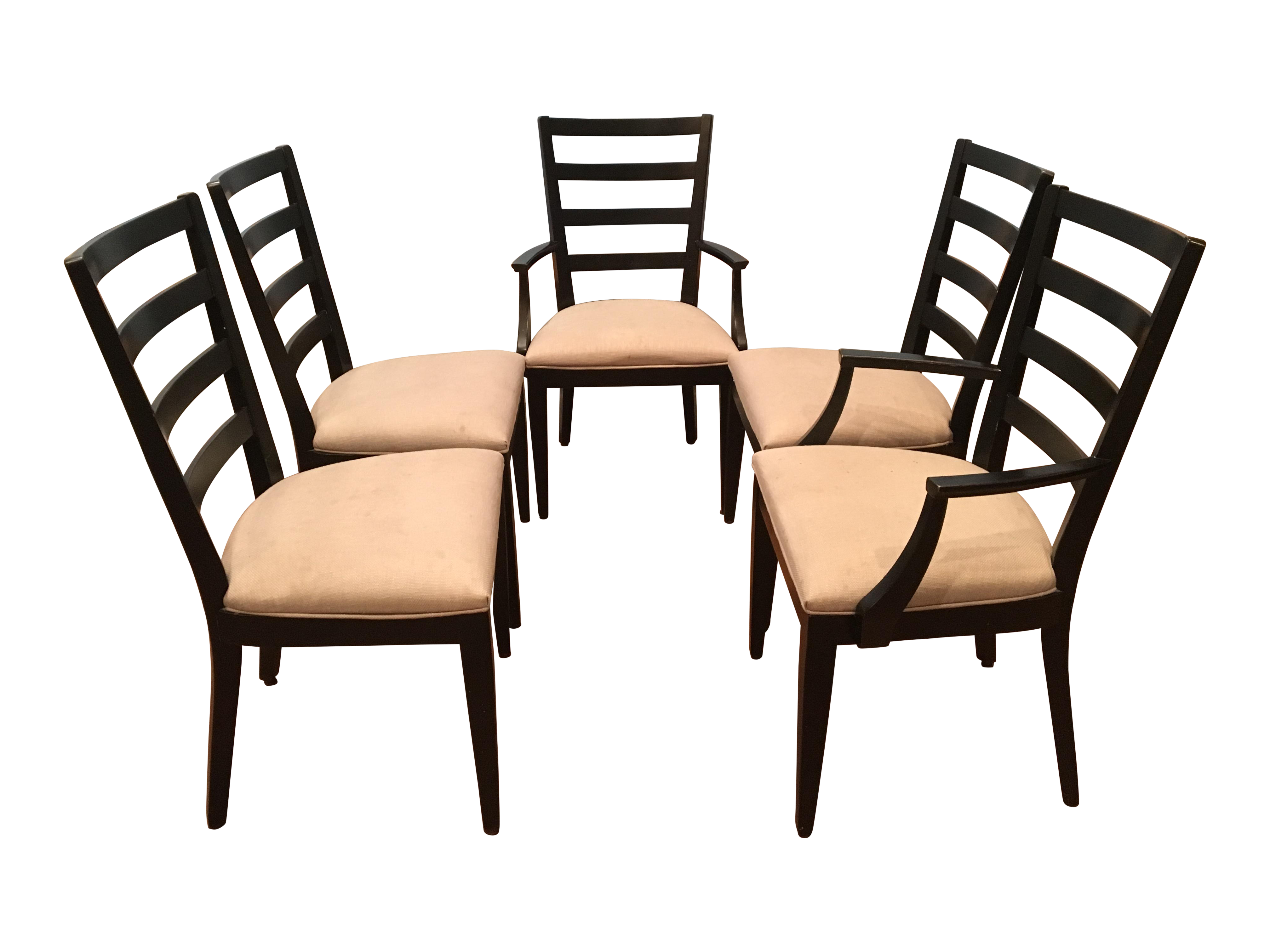 Ethan Allen Blair Dining Chairs Set of 5