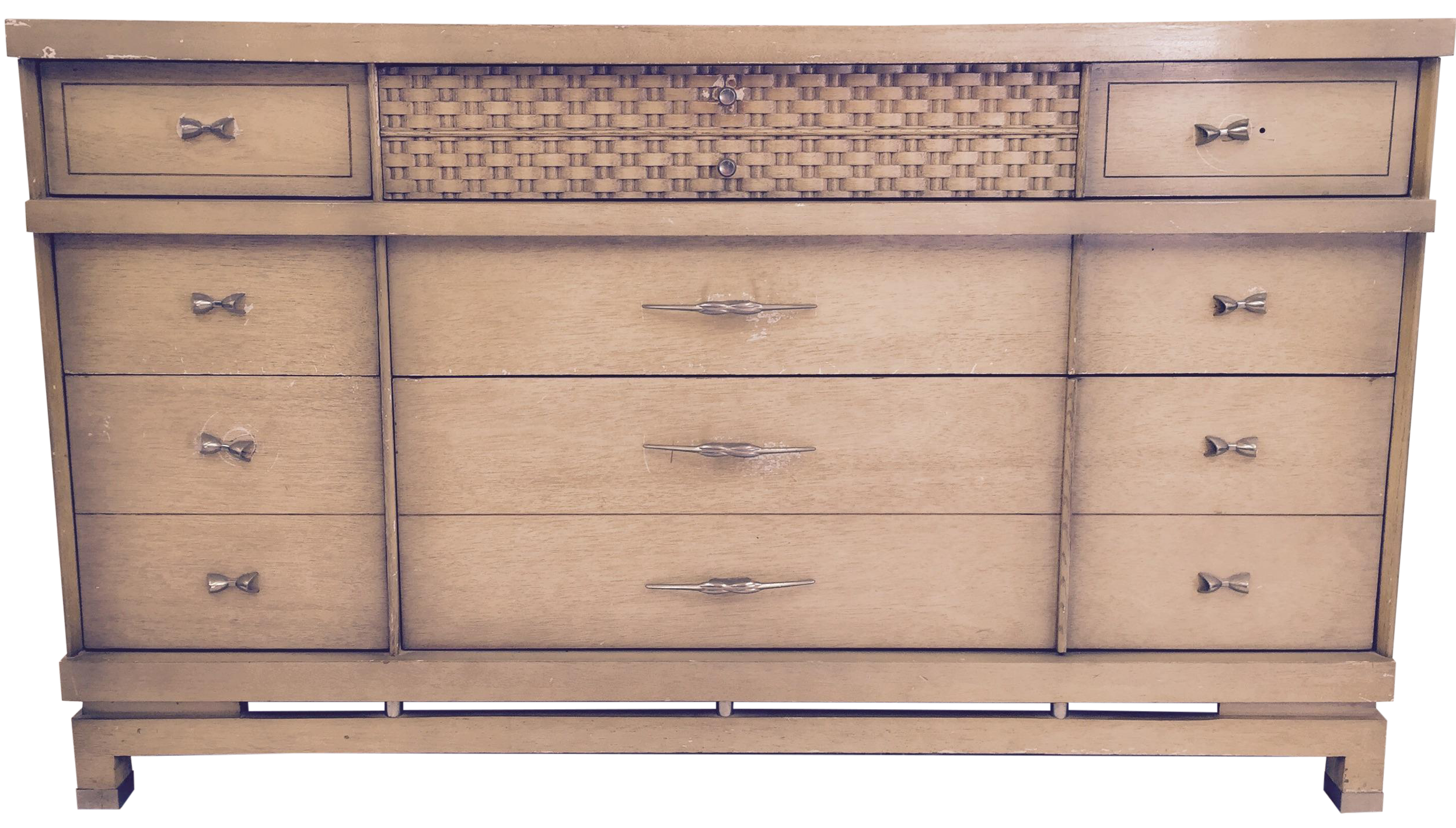 Vintage Used Bassett Dressers and Chests of Drawers
