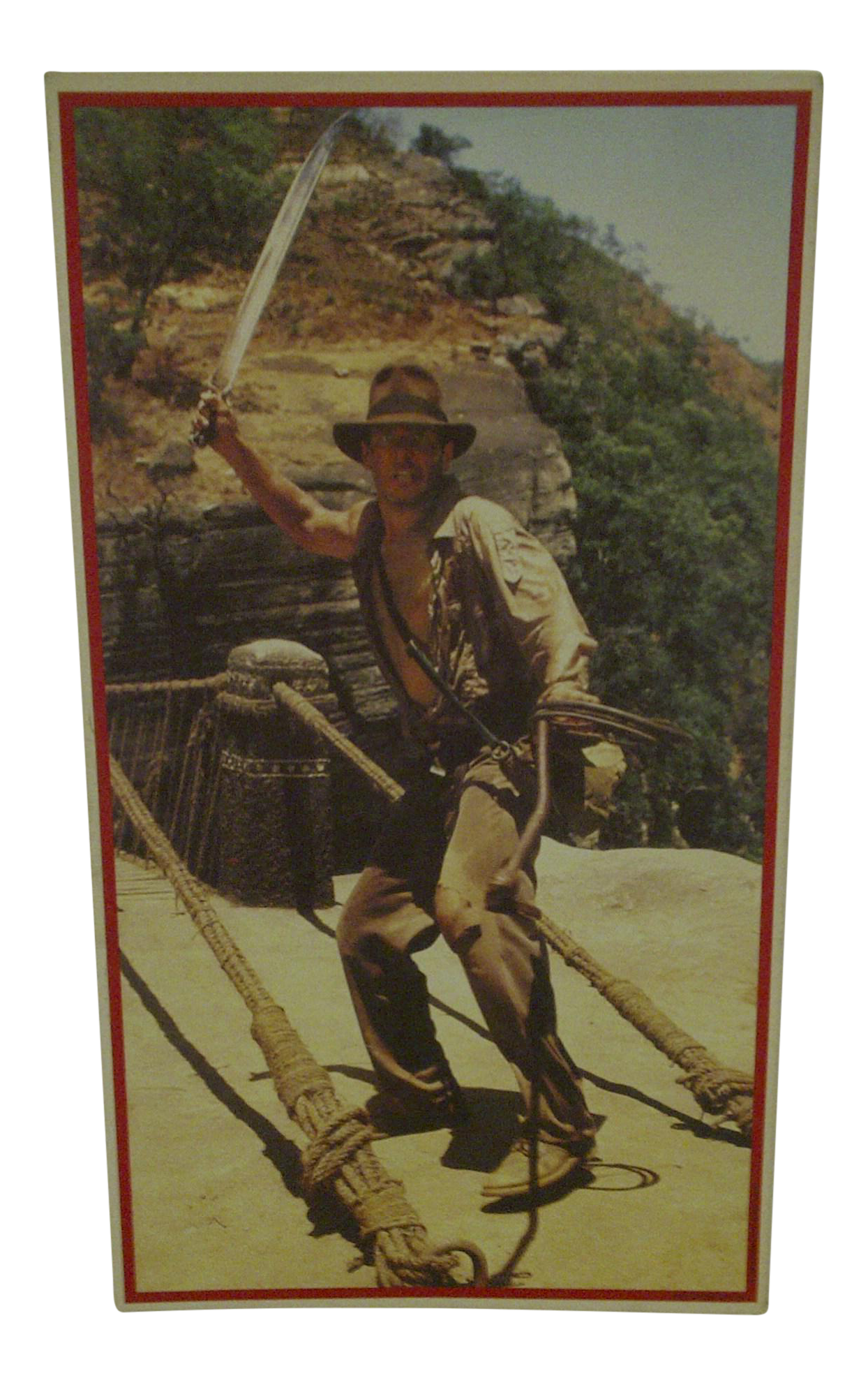 Vintage Un Cut Sheet of Gum Card Stickers Indiana Jones  : vintage un cut sheet of gum card stickers indiana jones and the temple of doom 4806 from www.chairish.com size 1244 x 1984 png 2622kB
