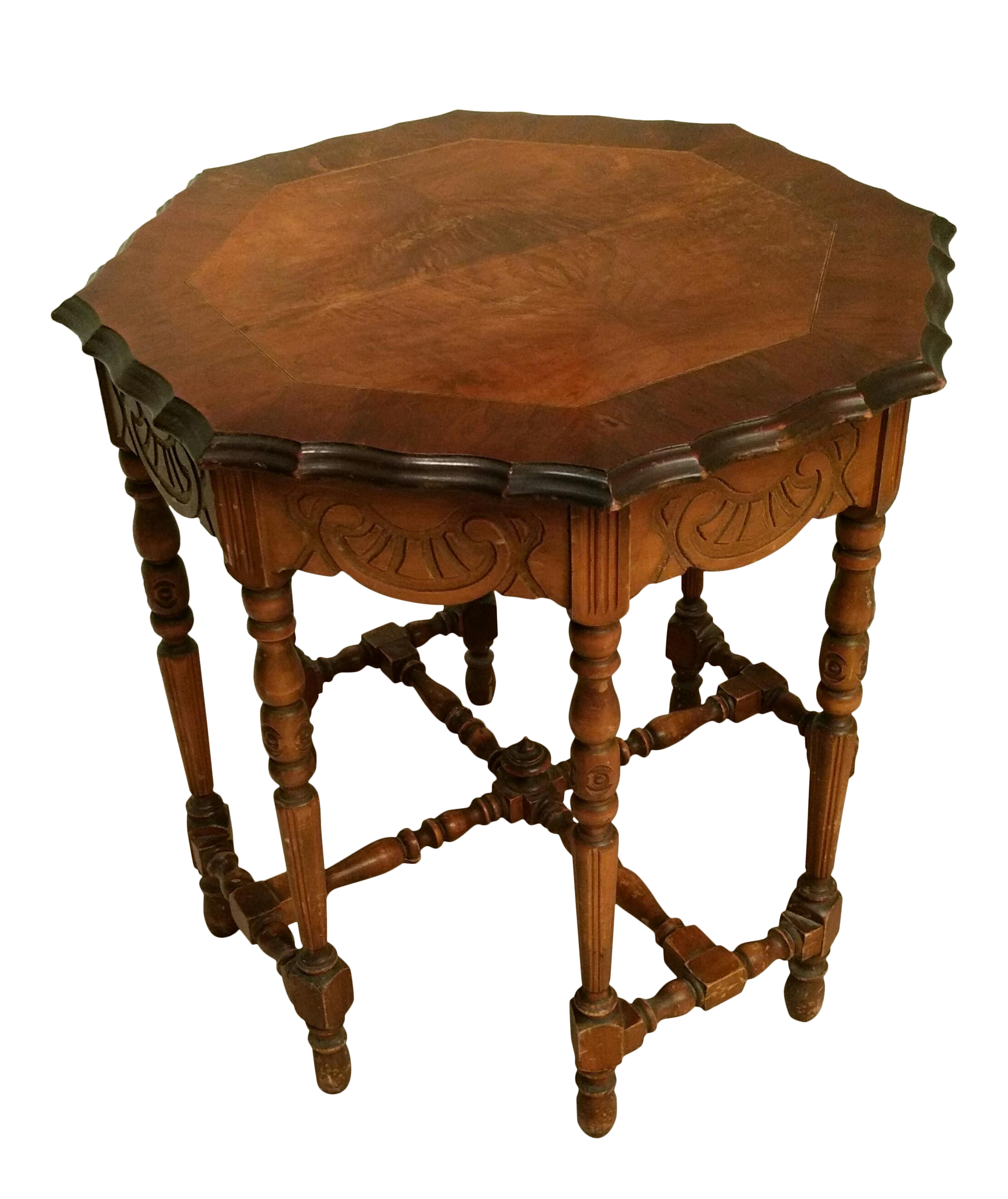 Antique Eight Leg Octagonal Side Table Chairish
