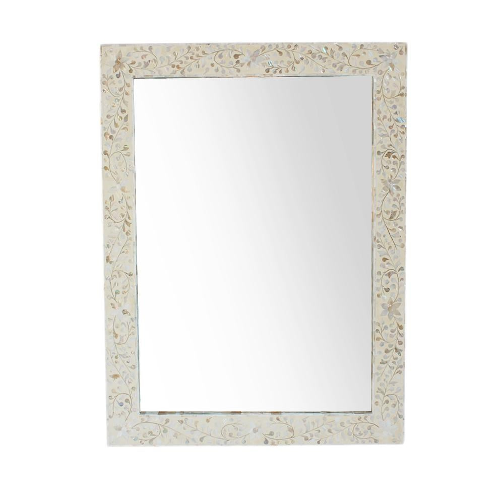 Mother Of Pearl Inlay Mirror Chairish