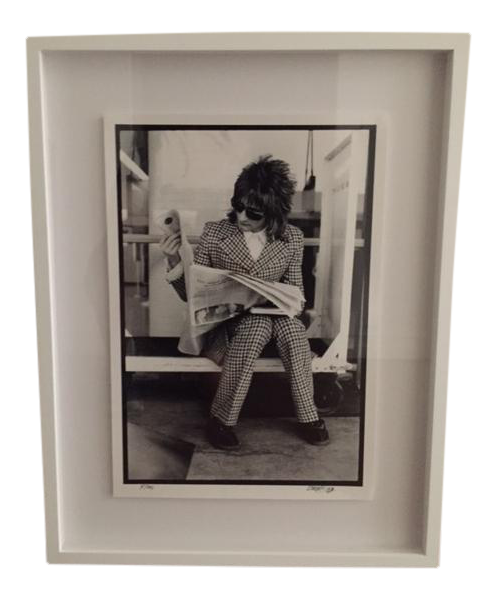 Hip Art Black And White Famous Rock N Roll Photographer
