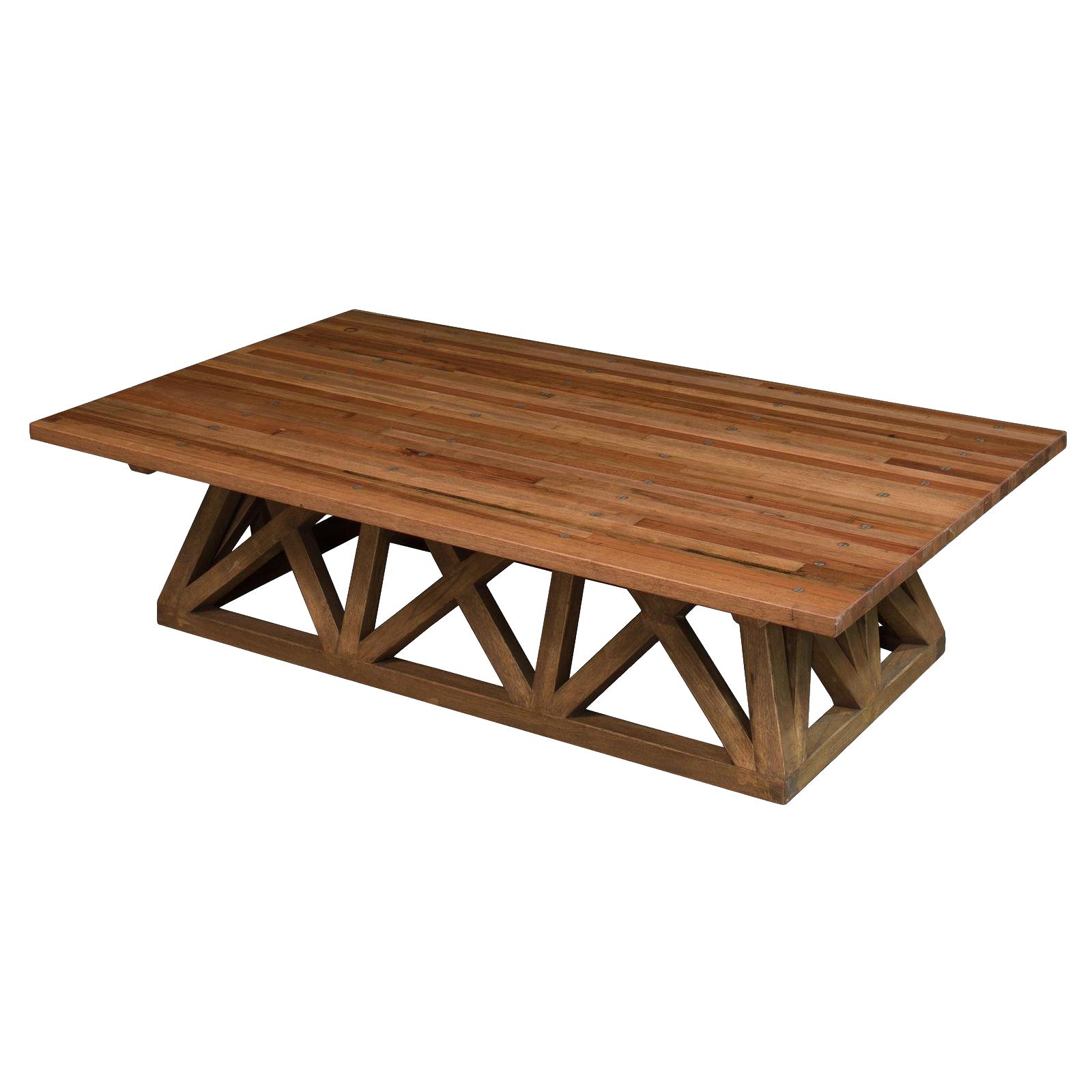 Vintage Sarreid Ltd Truck Bed Coffee Table Chairish