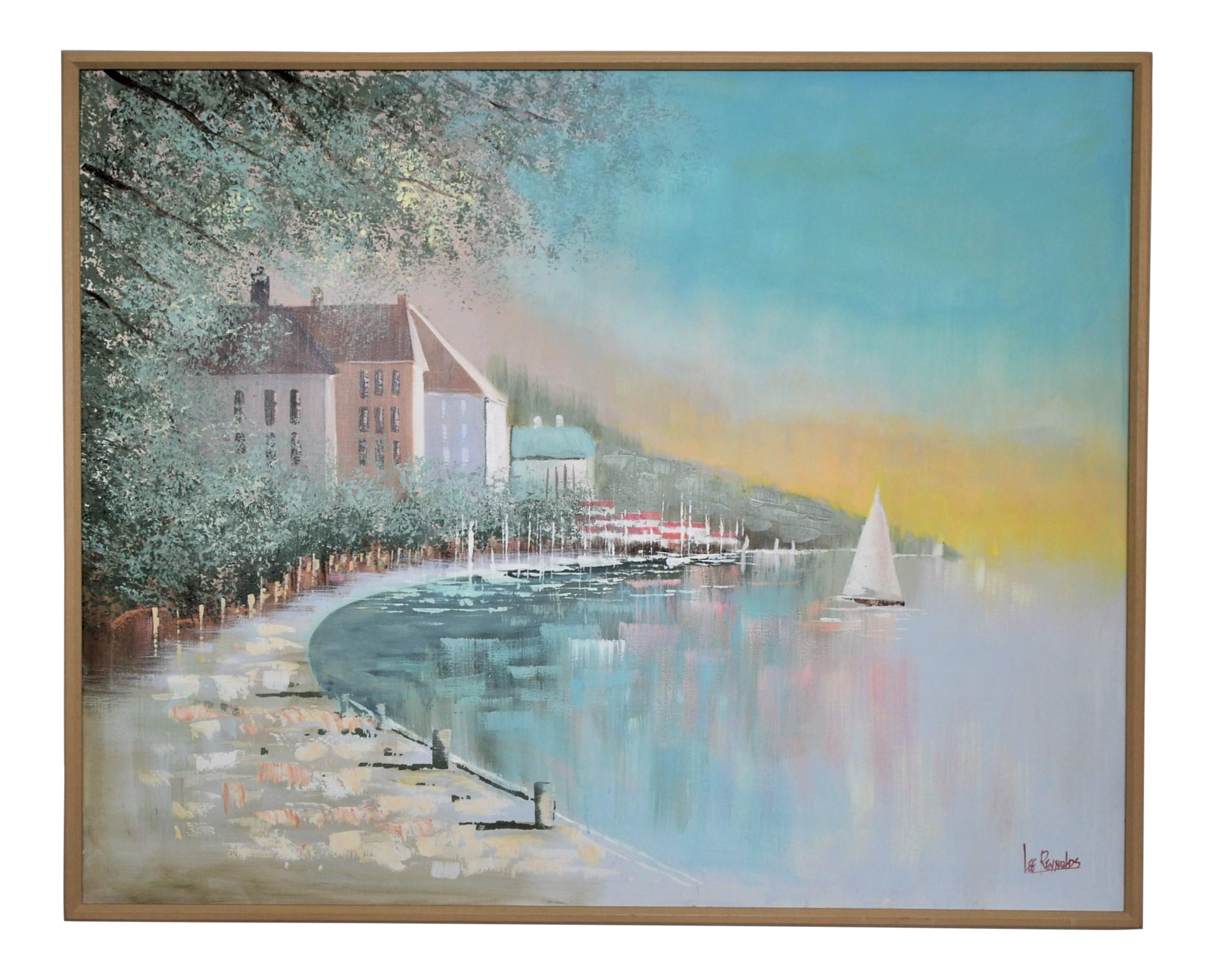 Lee Reynolds Original Seascape Maritime Oil Painting On