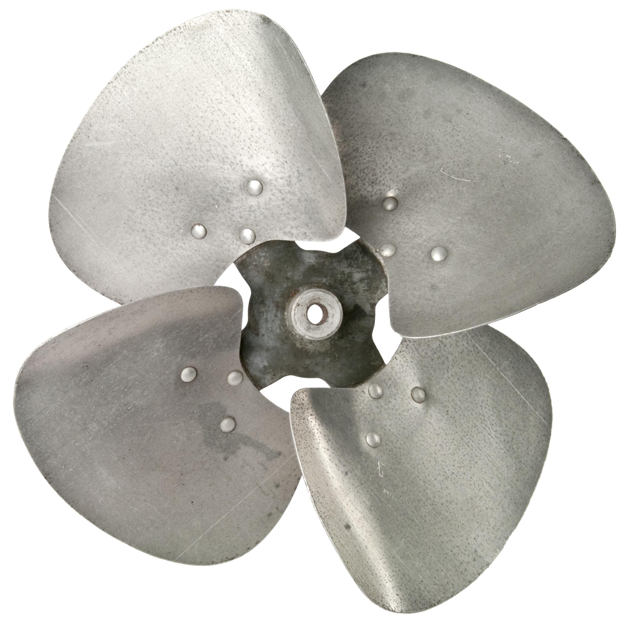 Metal Fan Blades : Vintage aluminum fan blade chairish