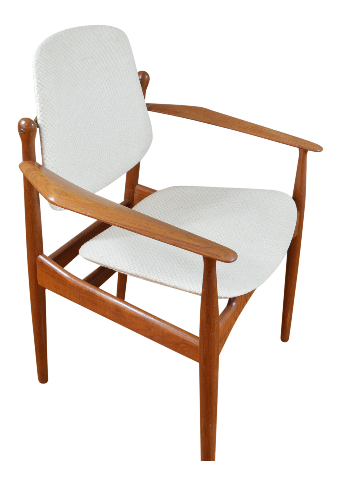 Arne Vodder For France Amp Daverkosen Danish Teak Arm Chair