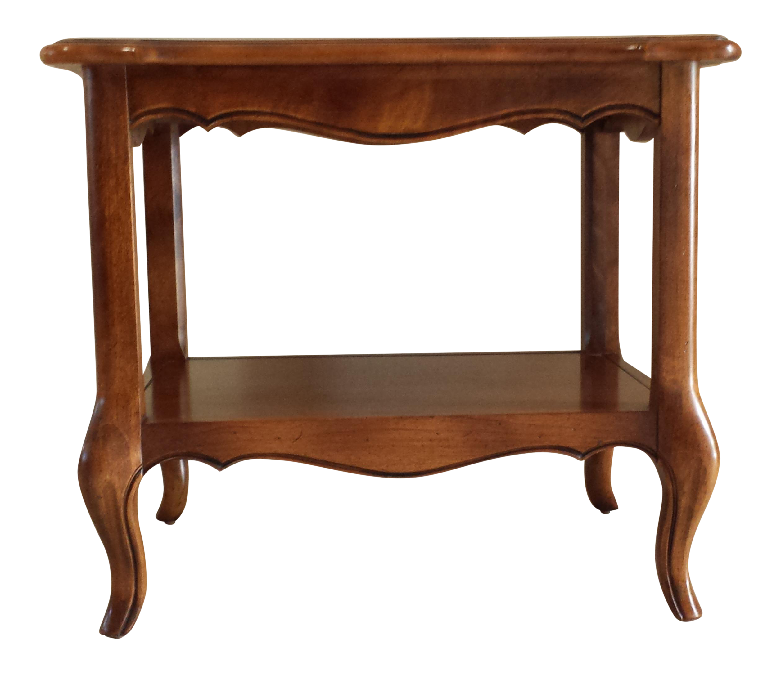 Ethan Allen New Country Coffee Table: Ethan Allen French Country End Table