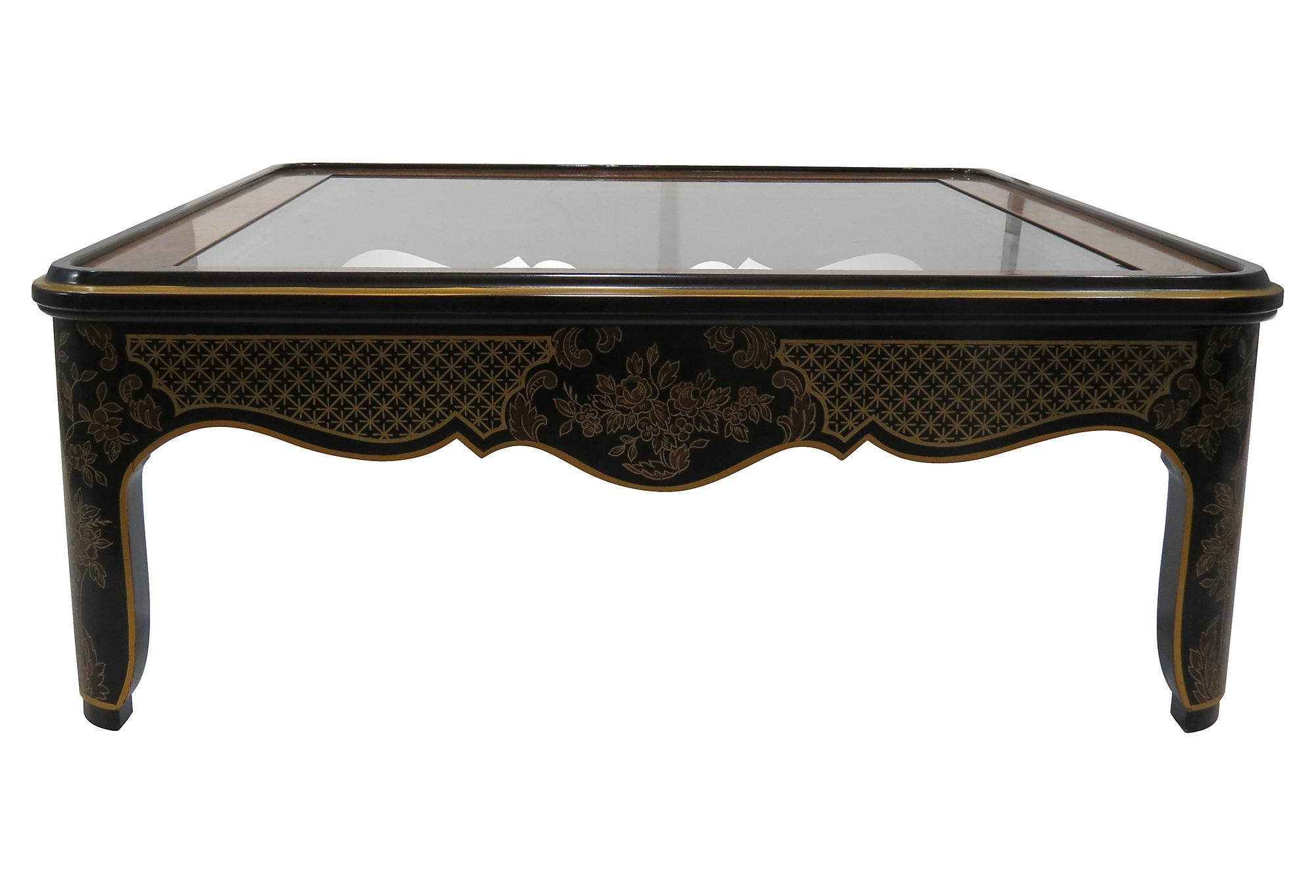 Drexel Asian Style Coffee Table Chairish