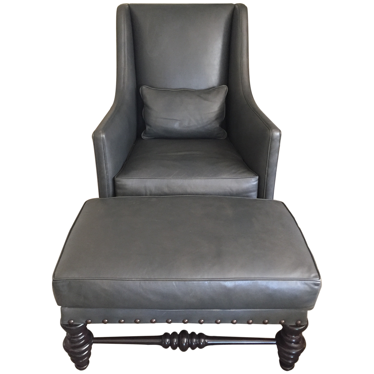 Ironies Cassis Chair & Ottoman