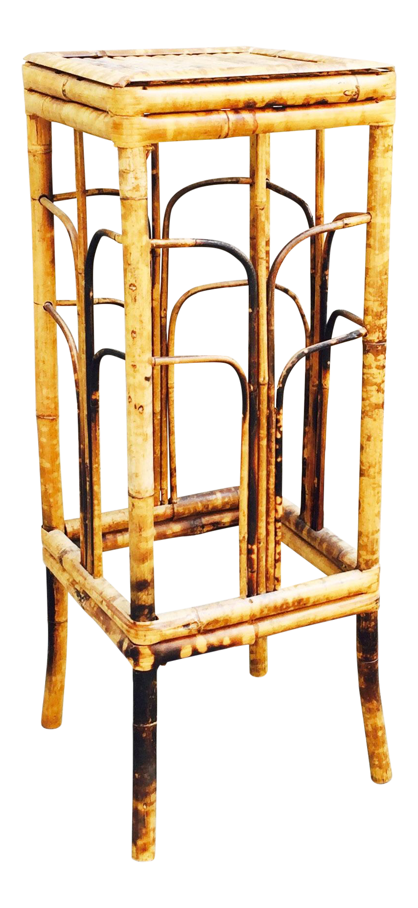Vintage Bamboo Plant Stand Chairish