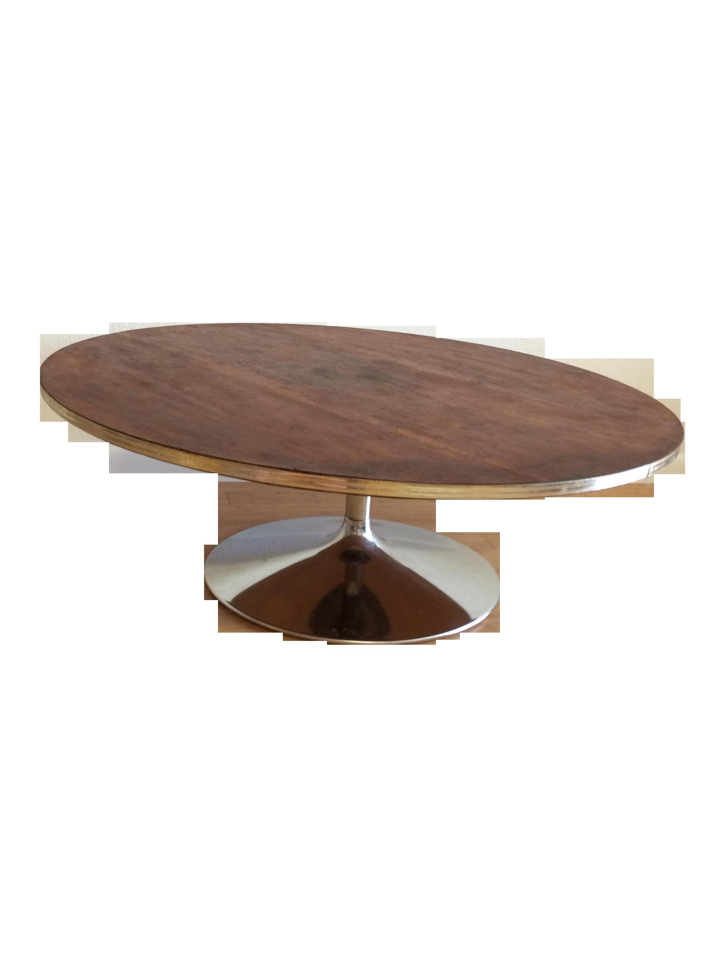 Mid Century Lane Tulip Coffee Table Chairish
