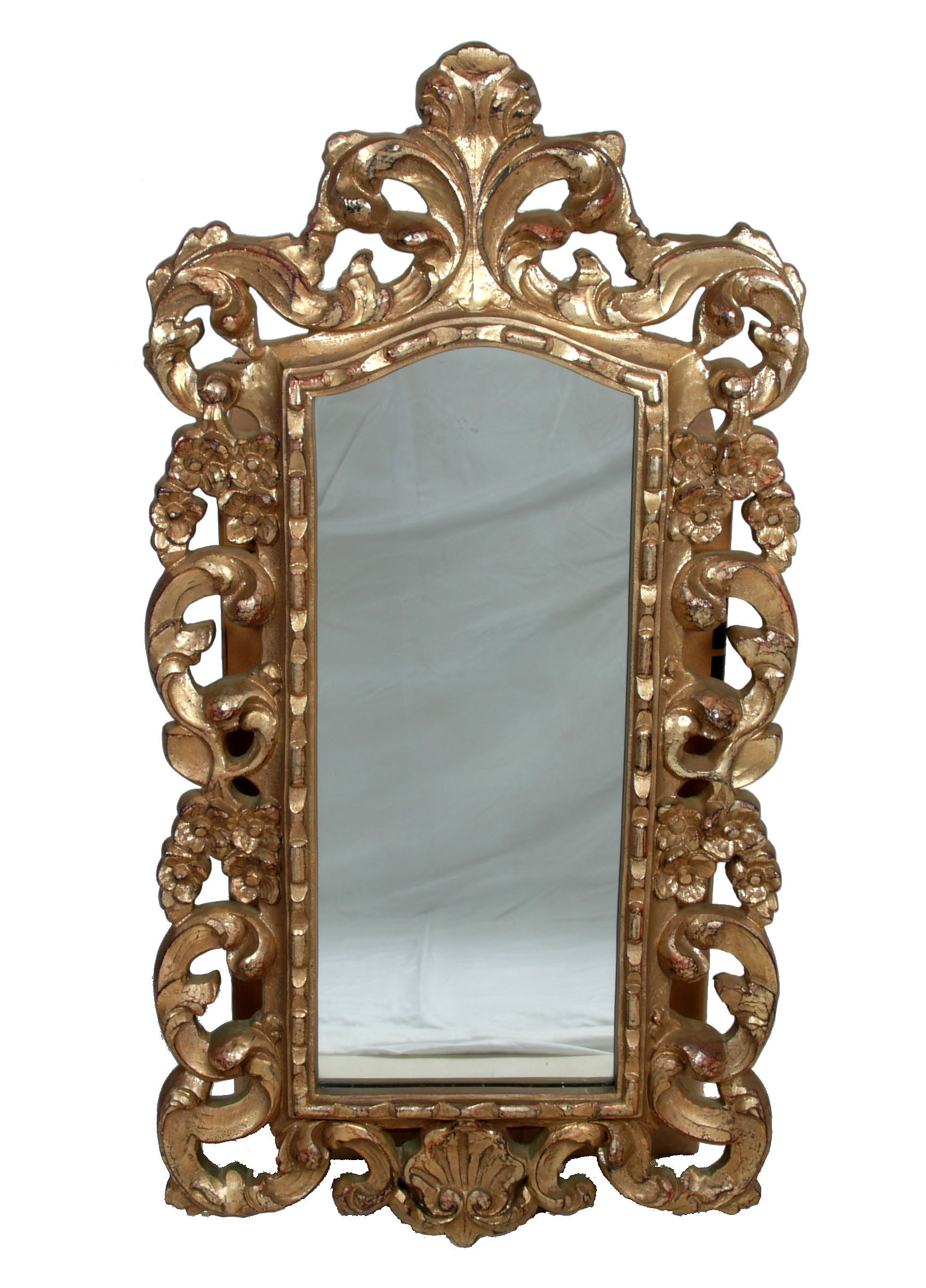 Vintage turner baroque style mirror chairish for Old style mirror
