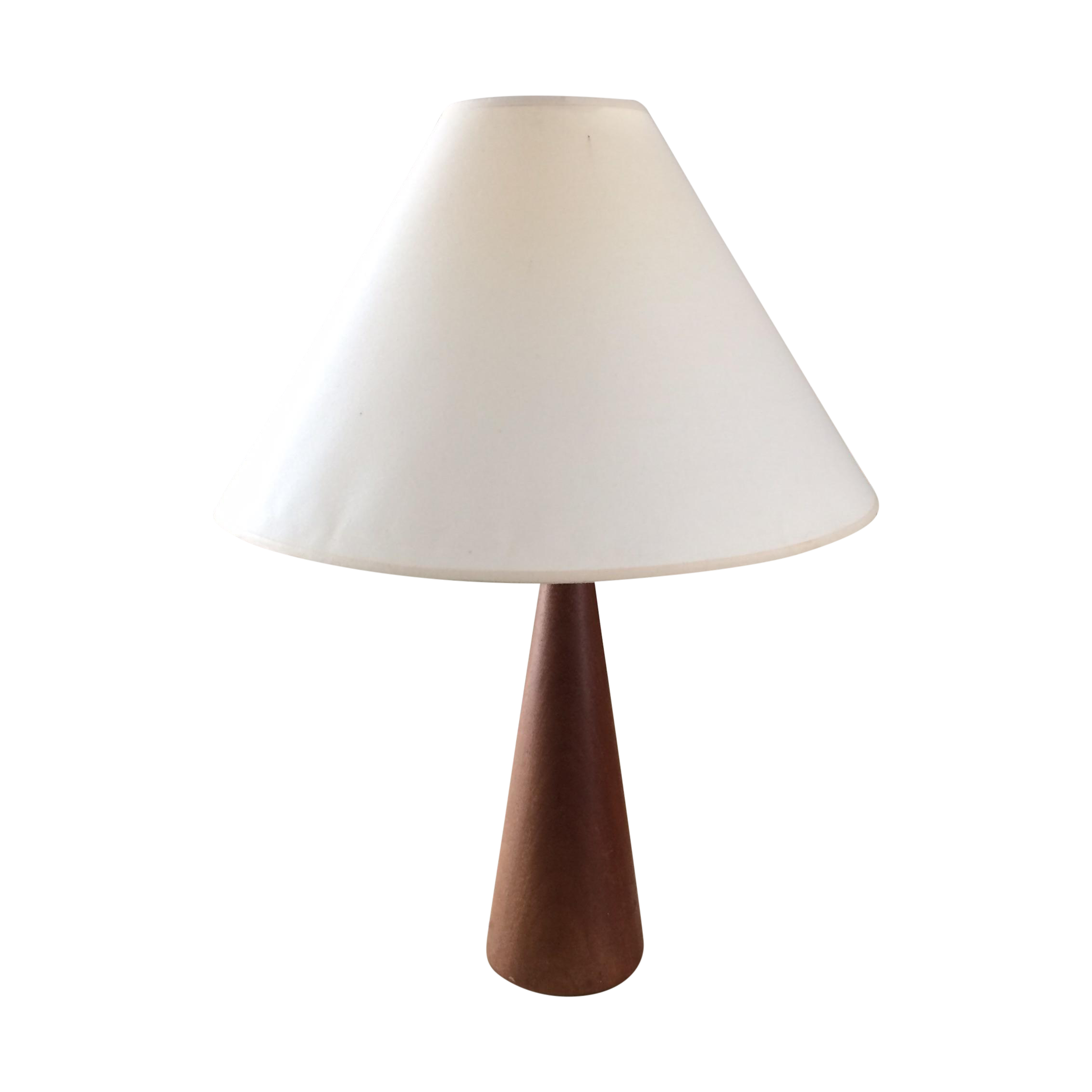 Vintage Danish Modern Teak Table Lamp
