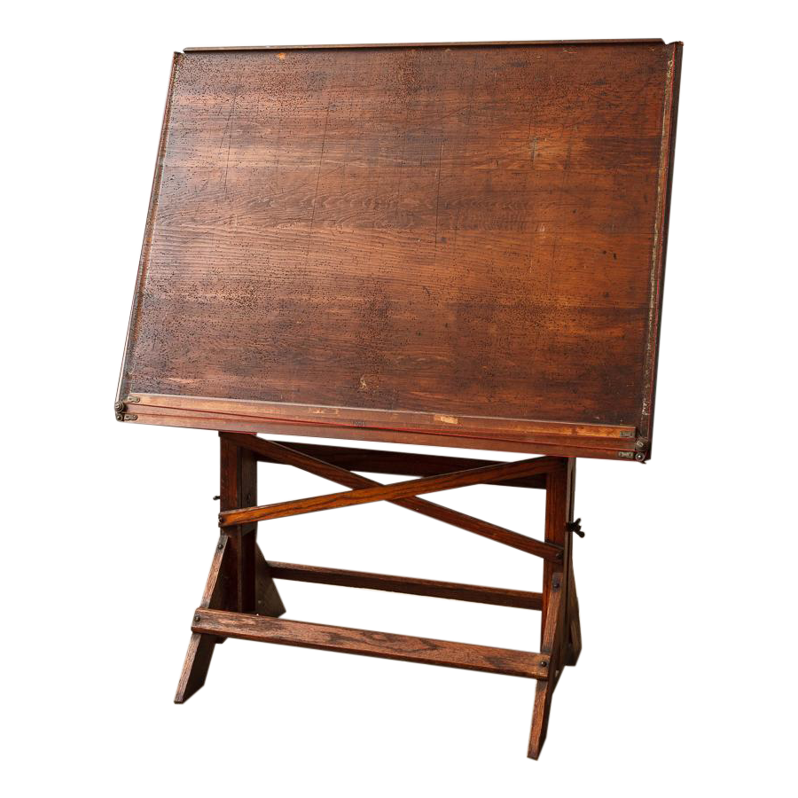 Antique Architect S Drafting Table Chairish
