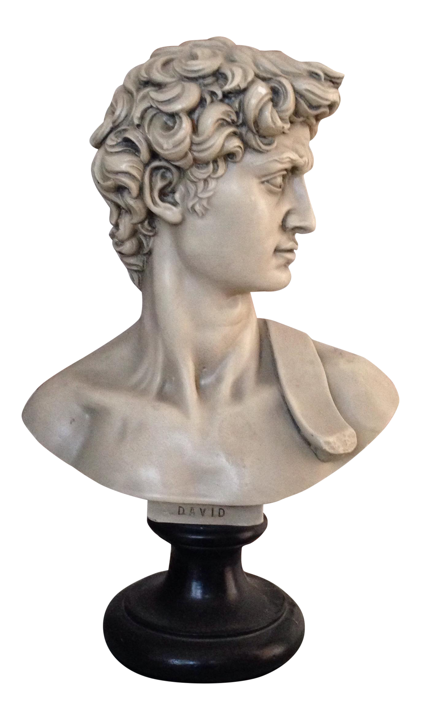 Plaster Bust Of David Chairish