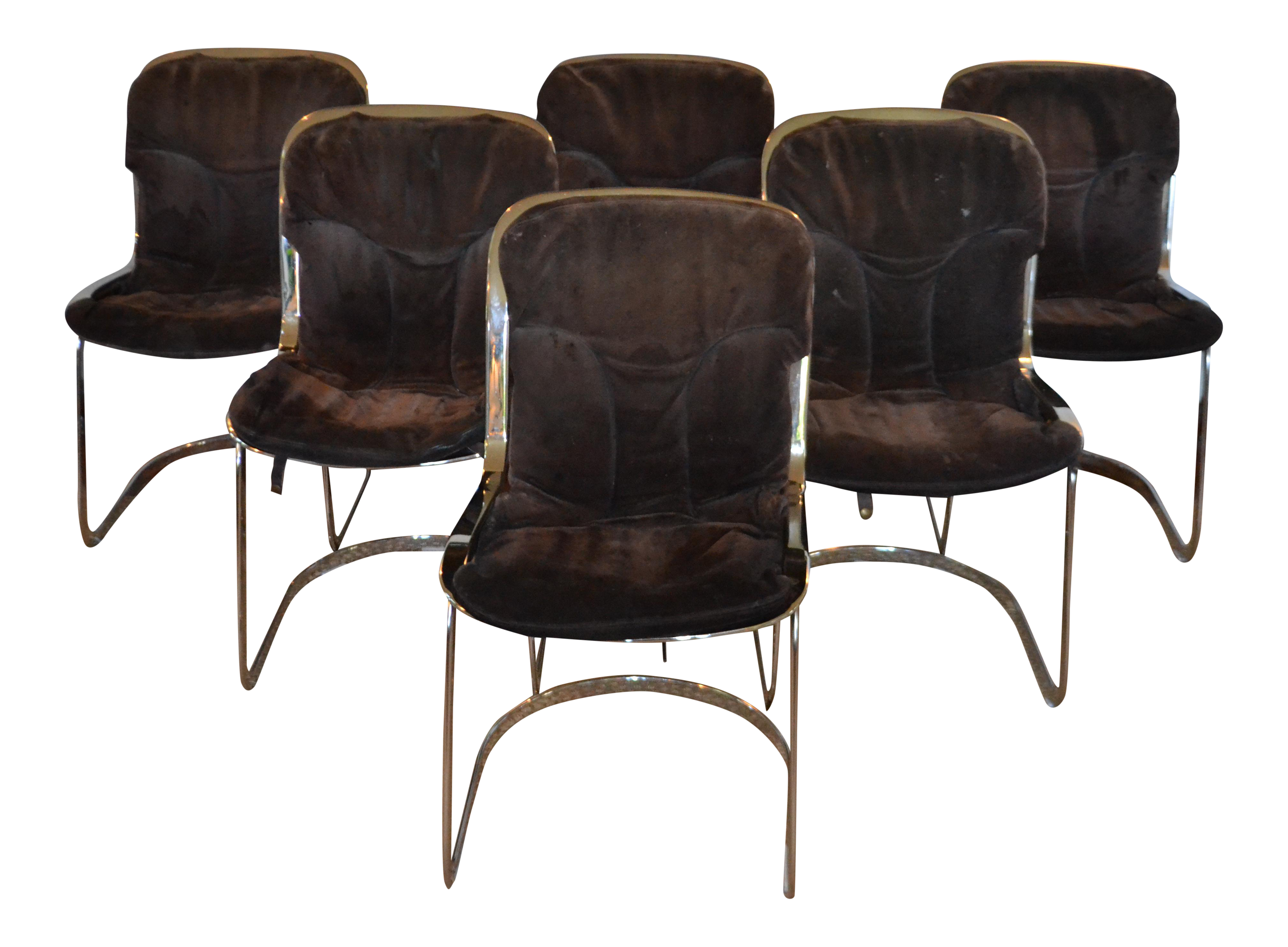 100 suede dining room chairs midcentury dining
