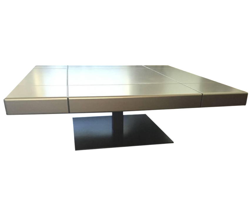 Roche bobois grey coffee table chairish for Armoire roche bobois