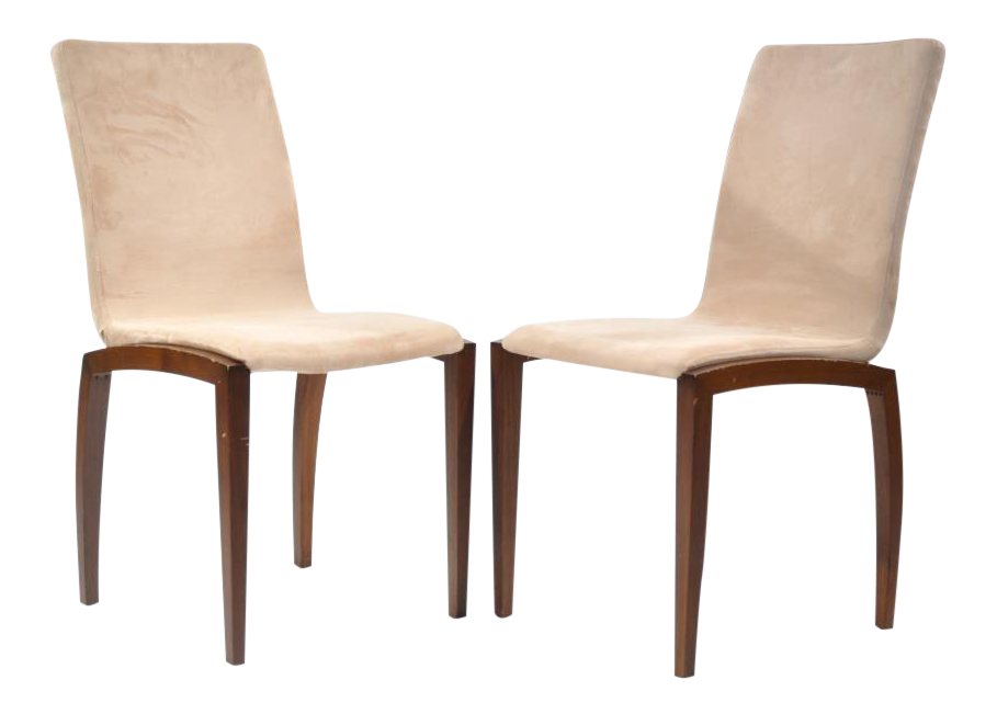 boconcept danish style chairs a pair chairish. Black Bedroom Furniture Sets. Home Design Ideas