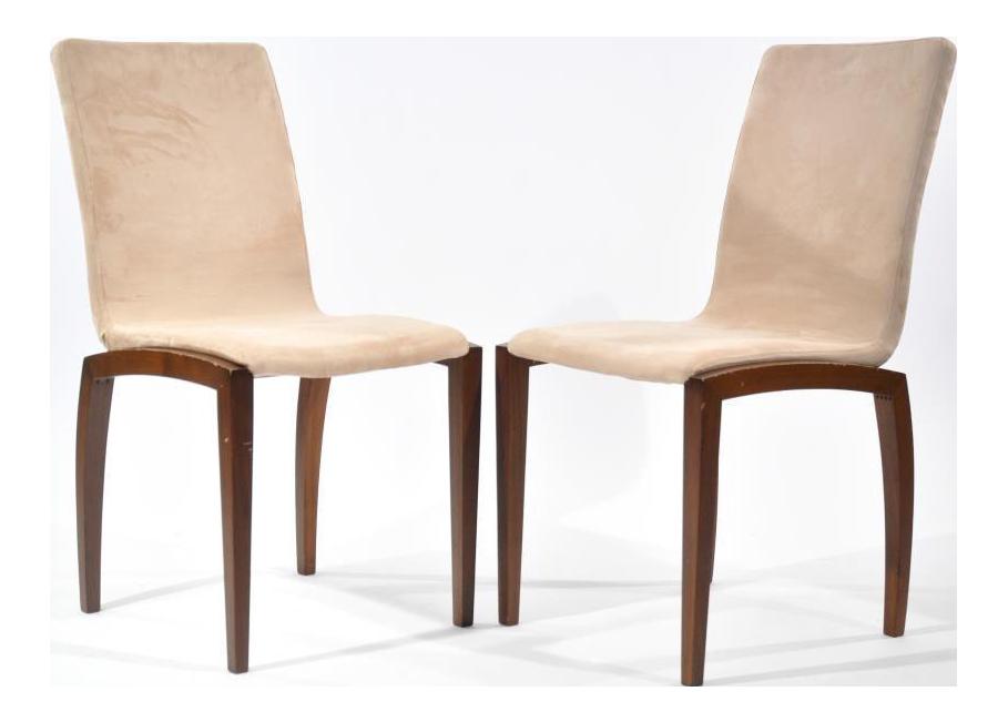 BoConcept Danish Style Chairs - A Pair  Chairish