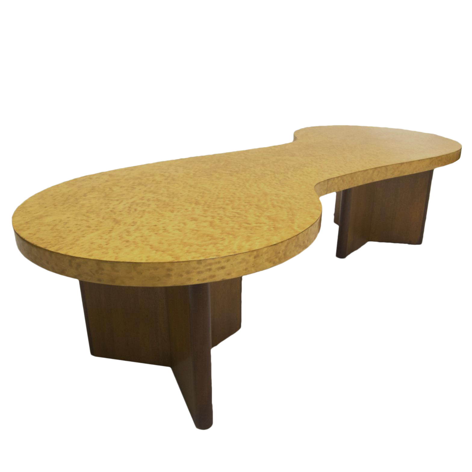 Biomorphic Coffee Table Excellent Rare Andrew Szoeke Associates Biomorphic Coffee Table In