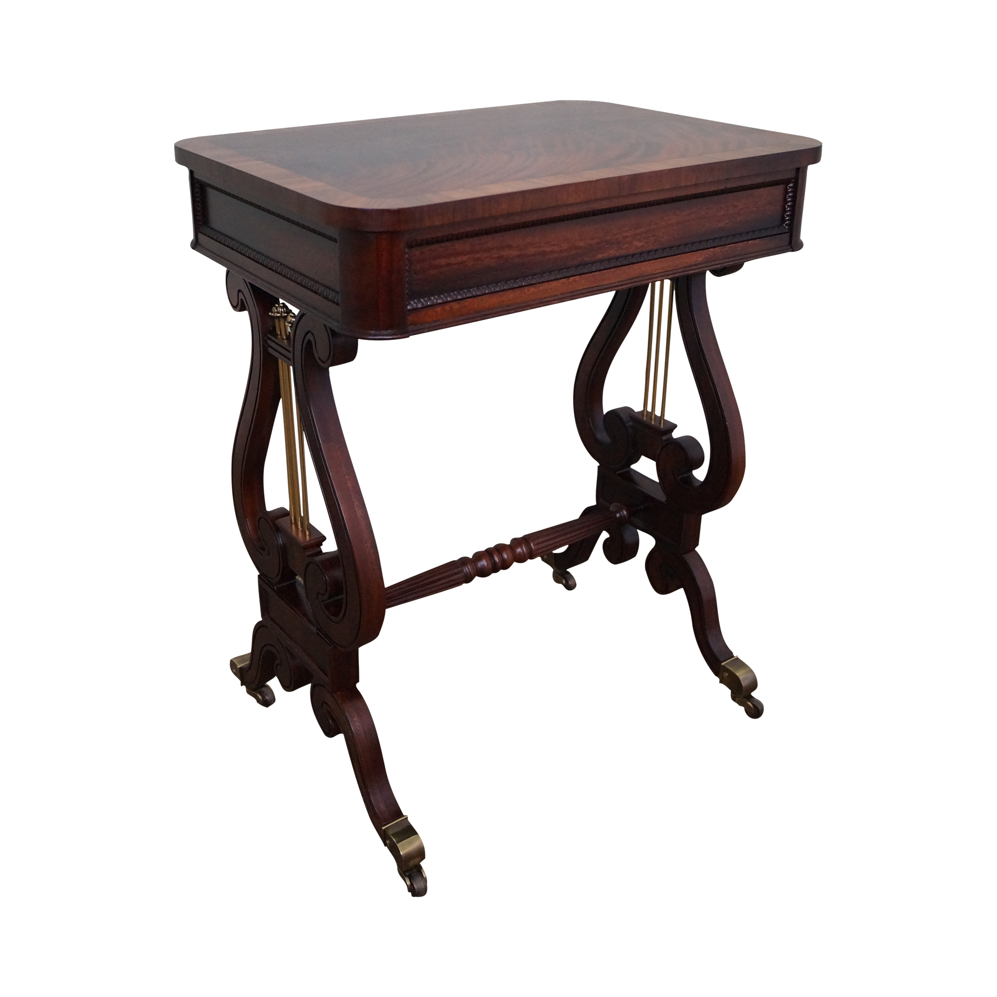 Flame Mahogany Hepplewhite Lyre Base Side Table Chairish : flame mahogany hepplewhite lyre base side table 5704 from www.chairish.com size 2000 x 2000 png 1148kB