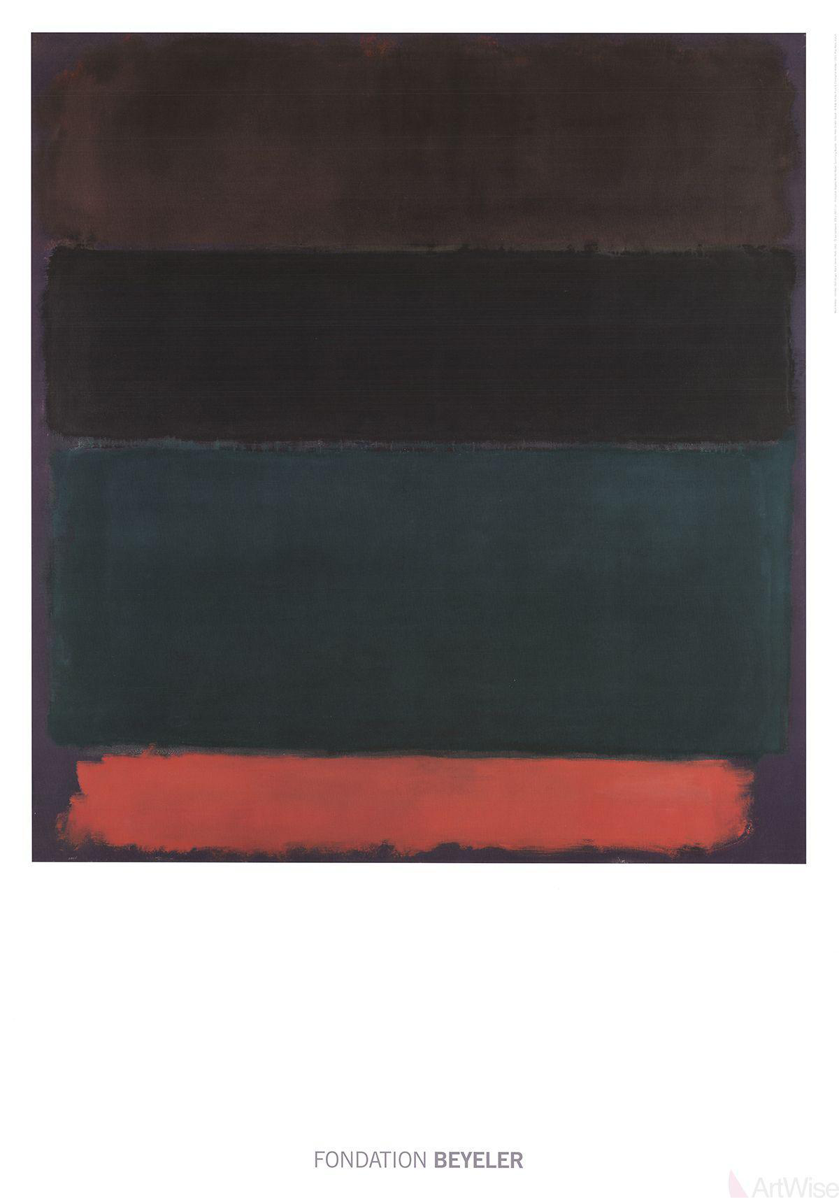 Mark Rothko Quot Red Brown Quot 2015 Poster Chairish