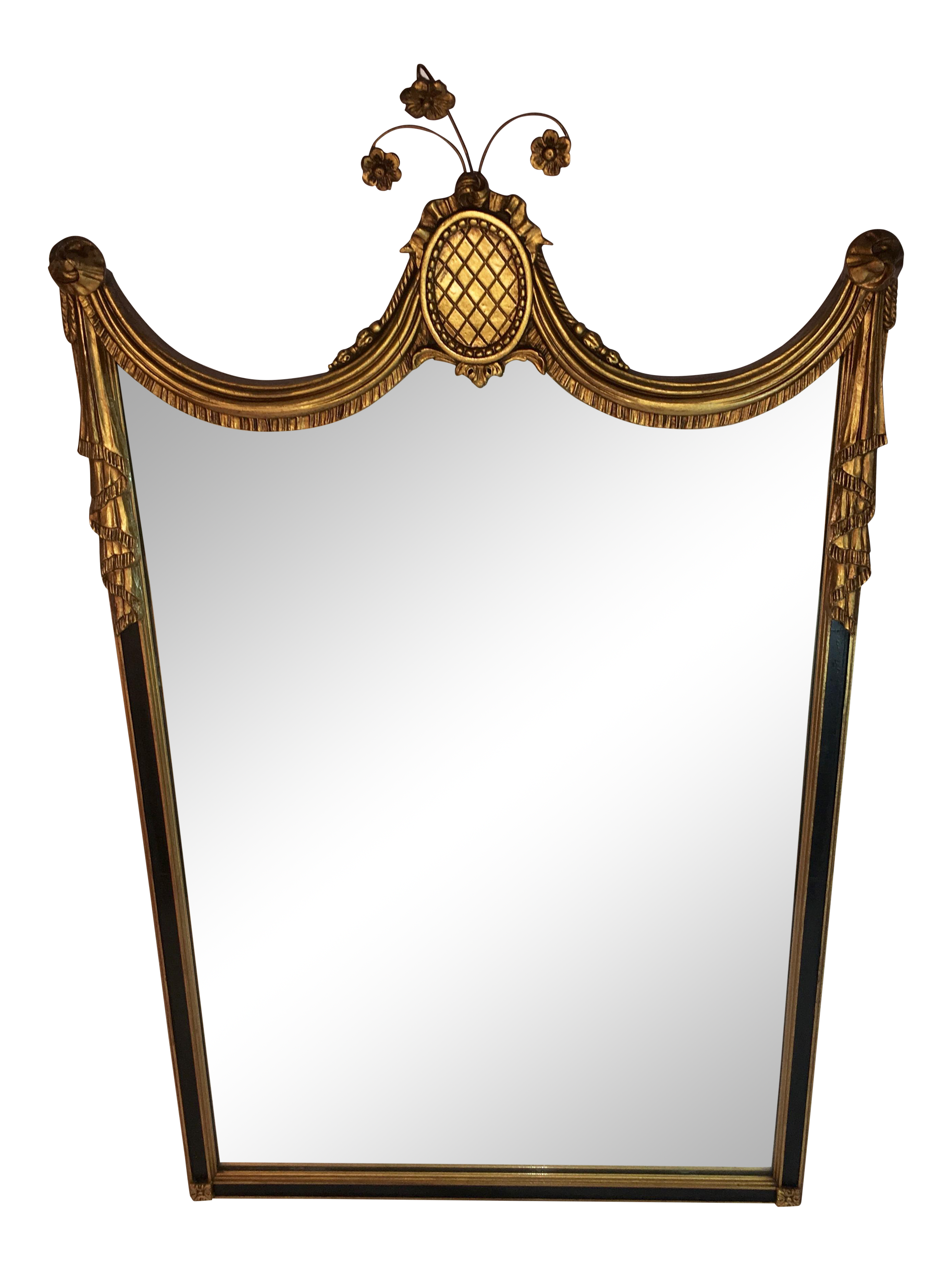 Antique art nouveau wall mirror chairish amipublicfo Image collections