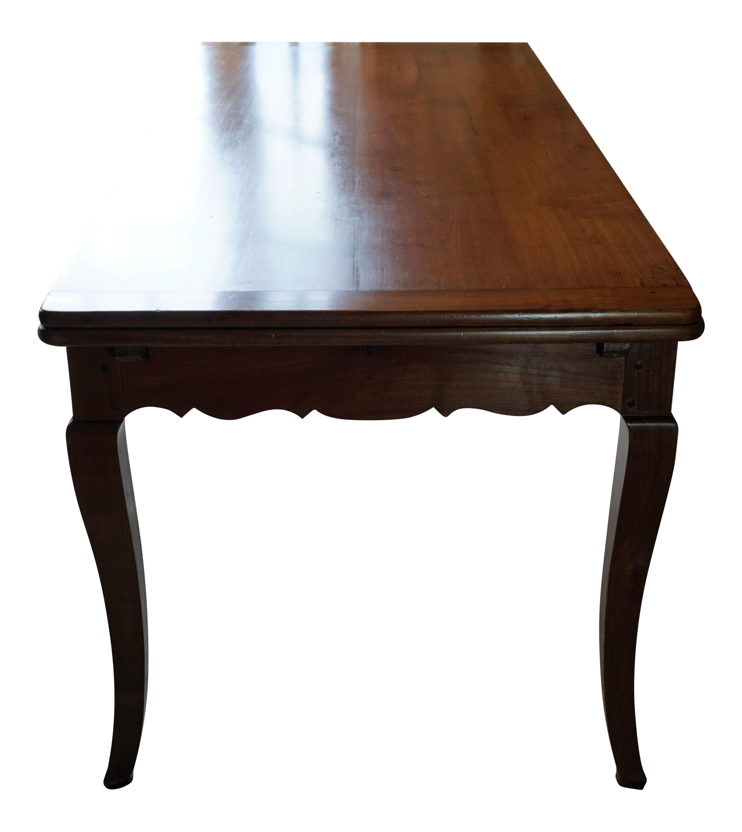 French Country Solid Cherry Dining Table