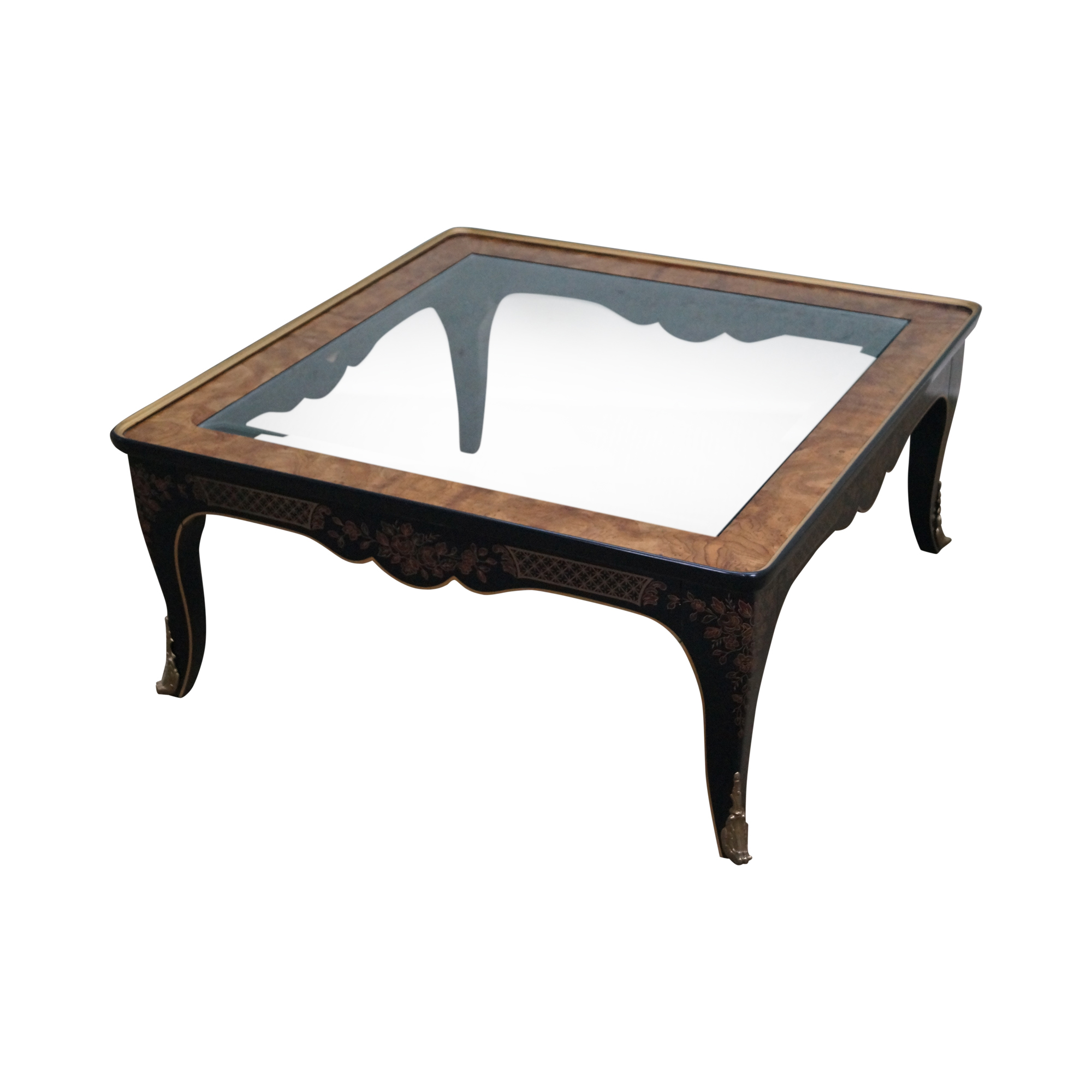 Drexel Heritage Et Cetera Burlwood Coffee Table