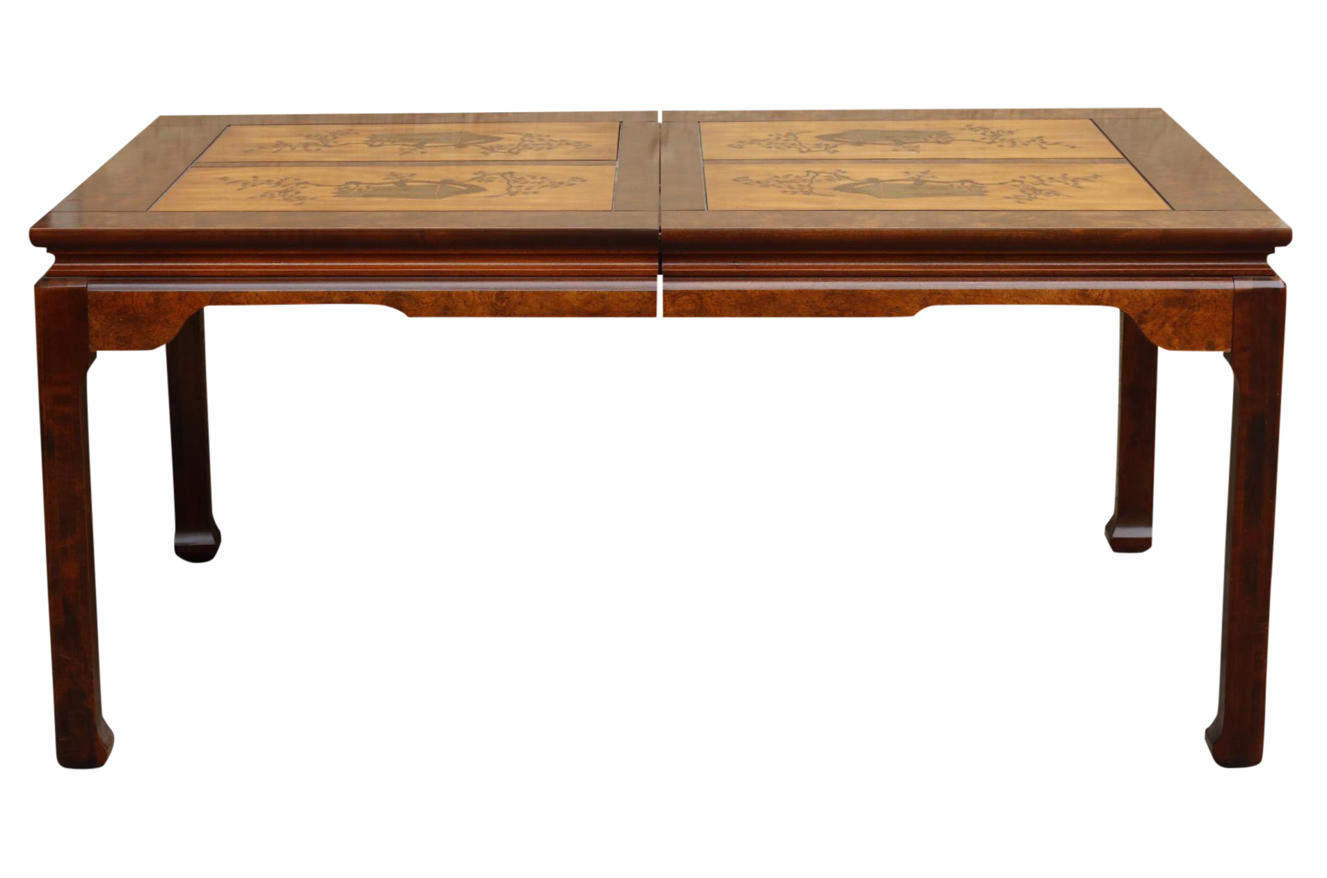 Ming Style Dining Table by Bassett Furniture Company  : ming style dining table by bassett furniture company 9866 from www.chairish.com size 1908 x 1262 png 669kB