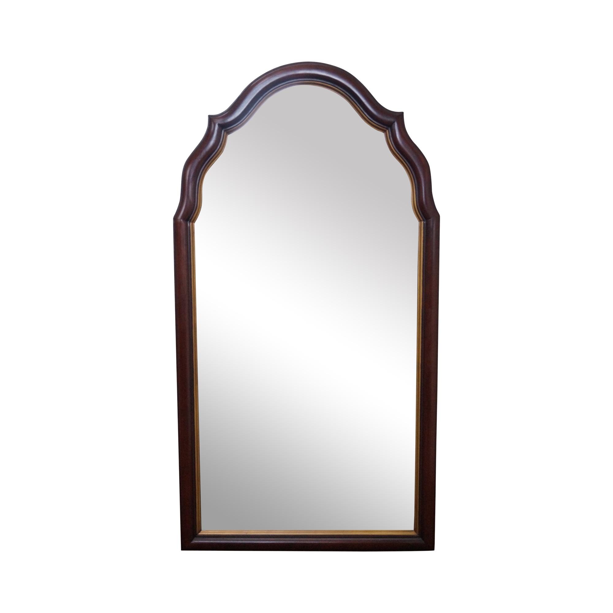 Statton Old Towne Solid Cherry Arch Top Mirror | Chairish