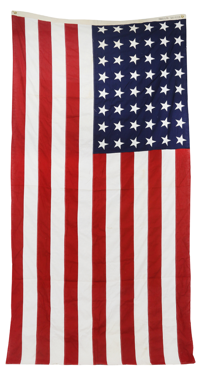 Vintage Extra Large 48 Star American Flag Chairish