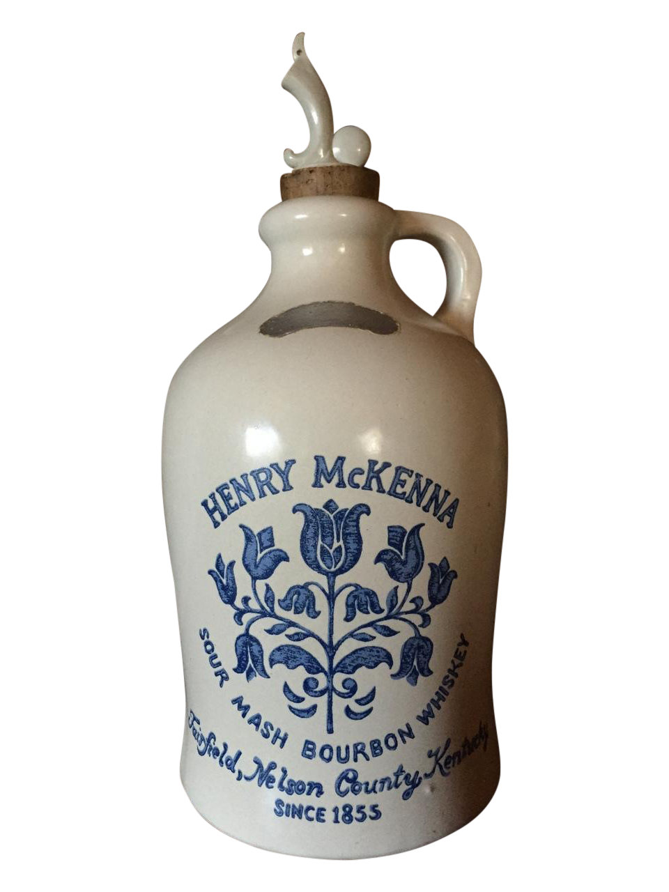 Henry Mckenna 1972 Stoneware Whiskey Jug Chairish