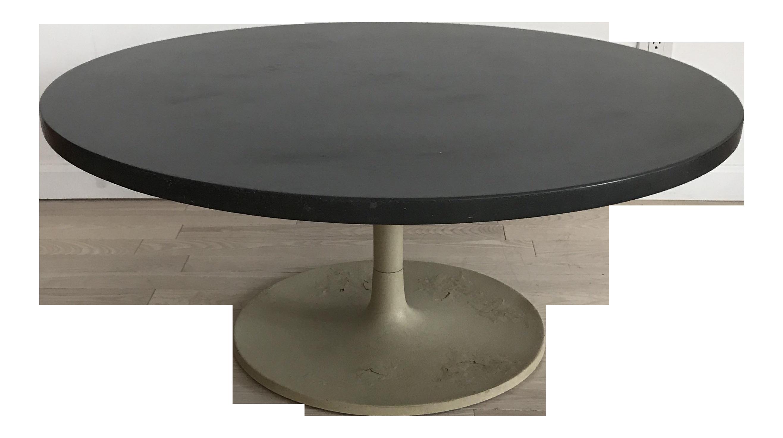 Jens risom slate tulip coffee table chairish geotapseo Choice Image