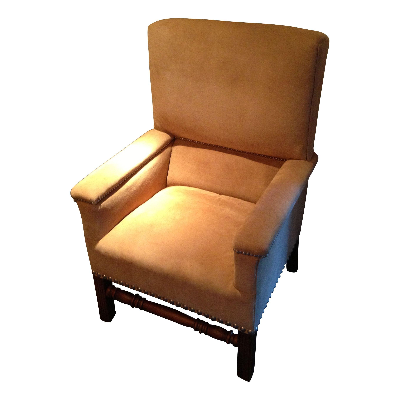 Ralph Lauren Lodge High Back Chair Chairish
