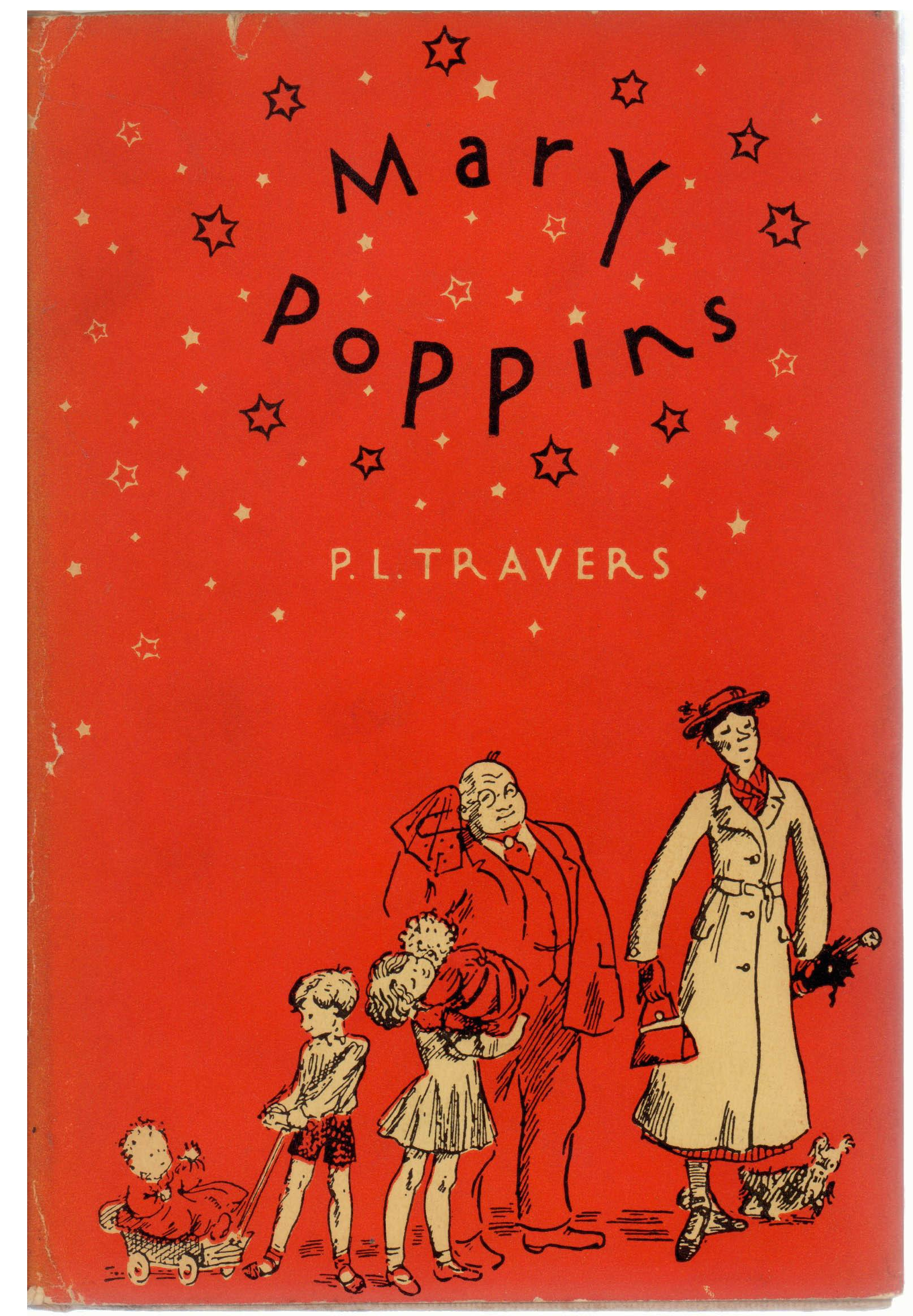 mary poppinsp. l. travers, 1934 | chairish