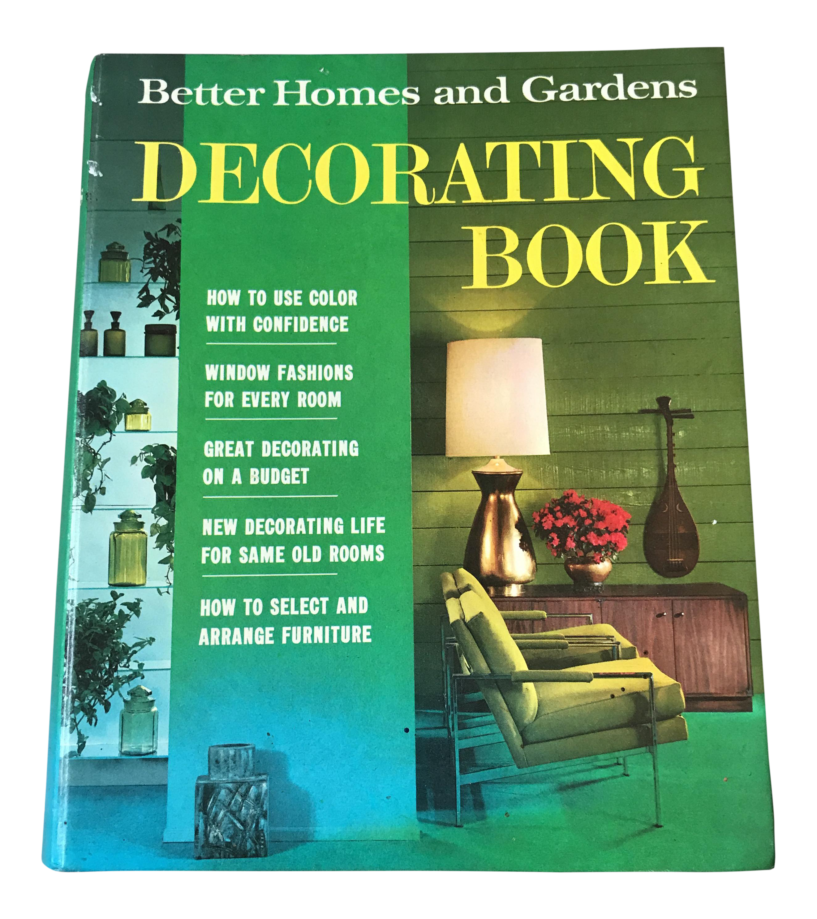 better homes amp gardens decorating book chairish